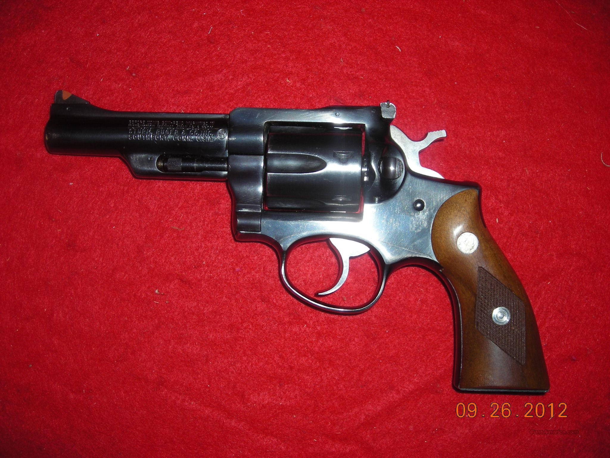 RUGER SECURITY SIX 4IN. 357 MAG   Guns > Pistols > Ruger Double Action Revolver > Security Six Type