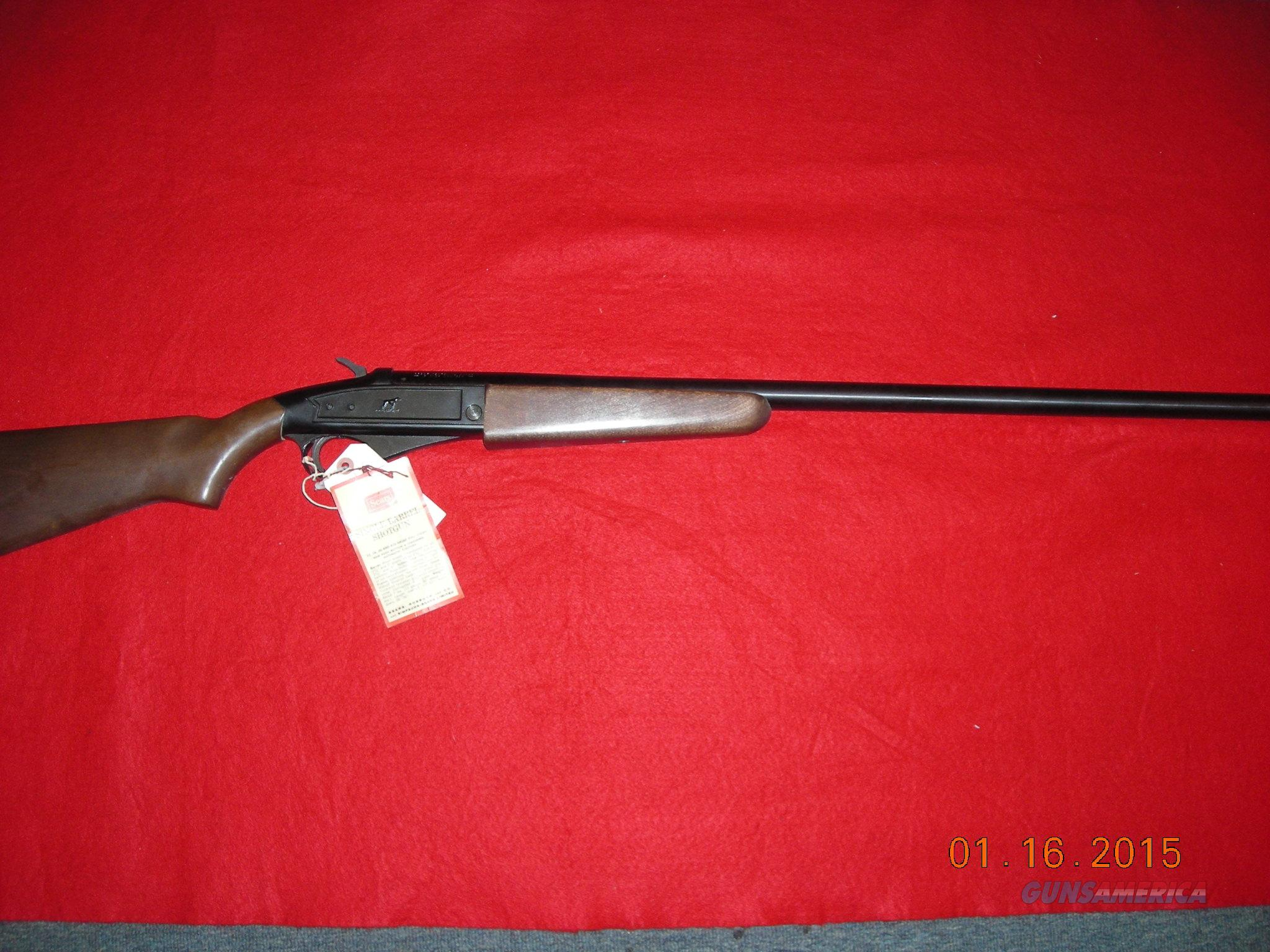 SAVAGE / SEARS 12GA SINGLE SHOT  Guns > Shotguns > Savage Shotguns