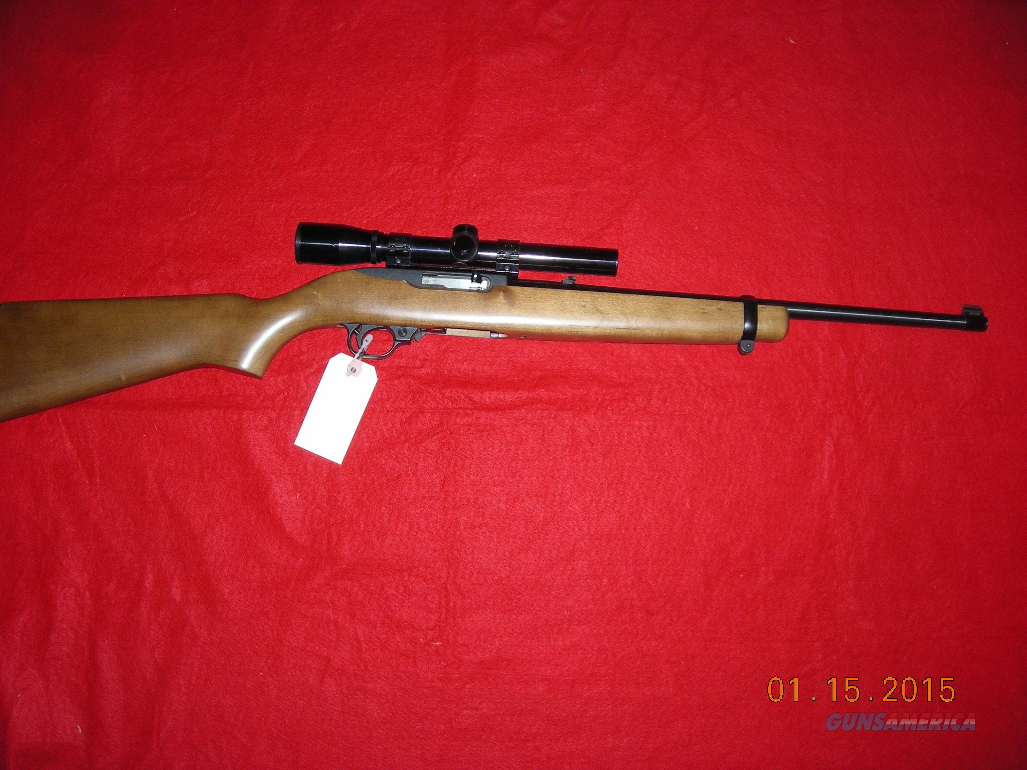 RUGER 10/22 WOOD STOCK  Guns > Rifles > Ruger Rifles > 10-22