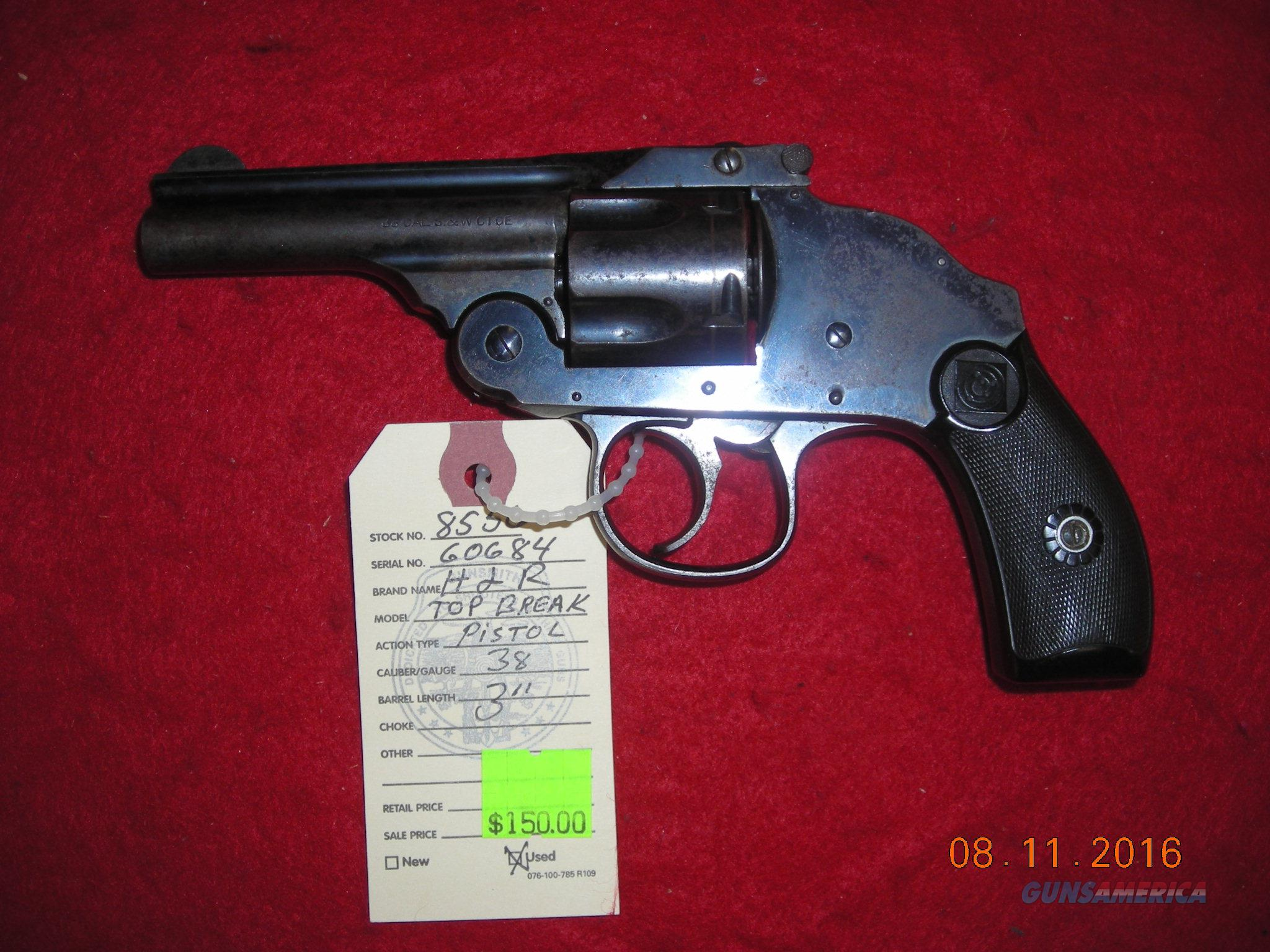 HARRINGTON AND RICHARDSON 38 S&W CAL  Guns > Pistols > Harrington & Richardson Pistols