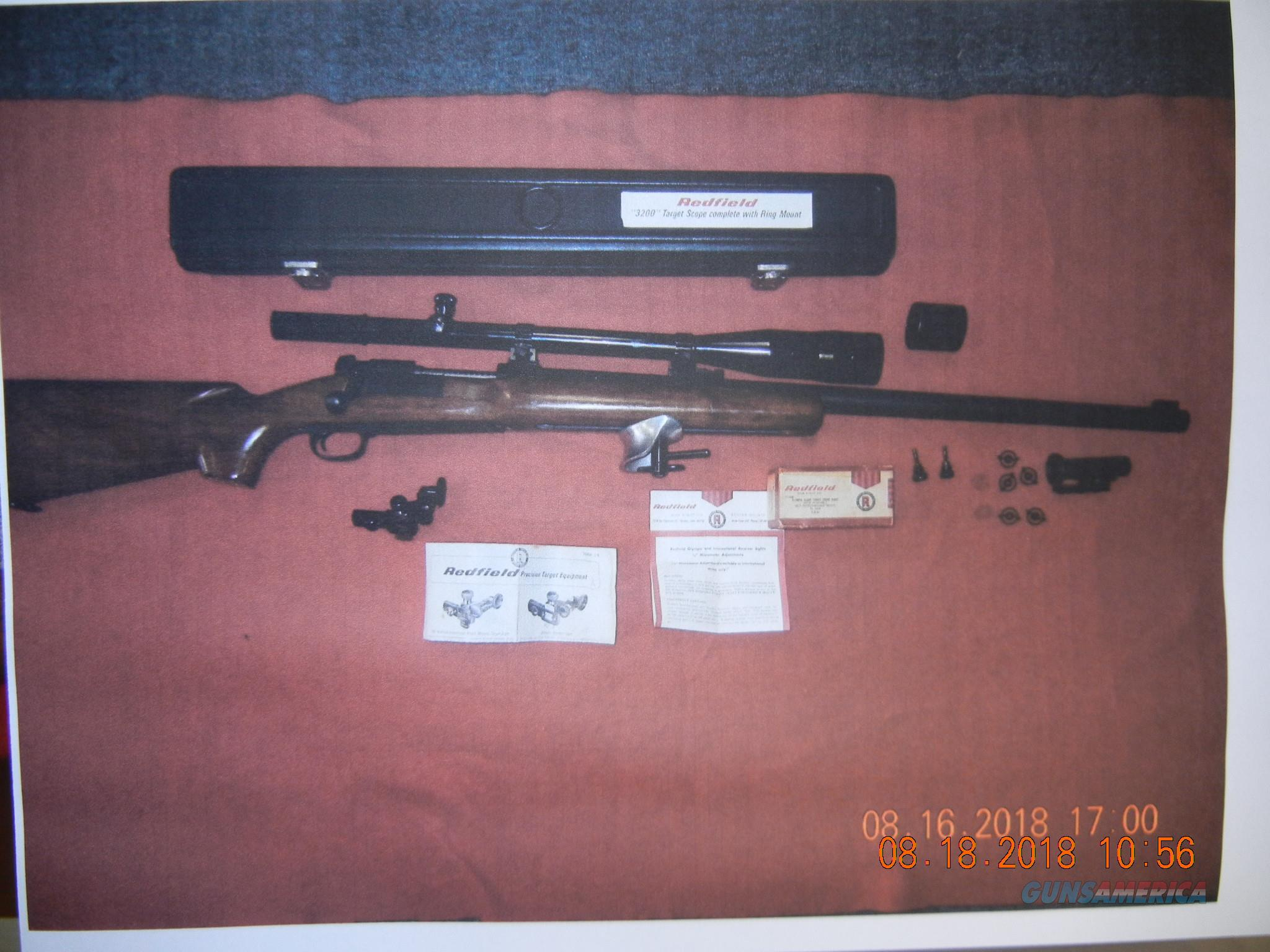 WINCHESTER MODEL MODEL 70 TARGET  Guns > Rifles > Winchester Rifles - Modern Bolt/Auto/Single > Model 70 > Pre-64