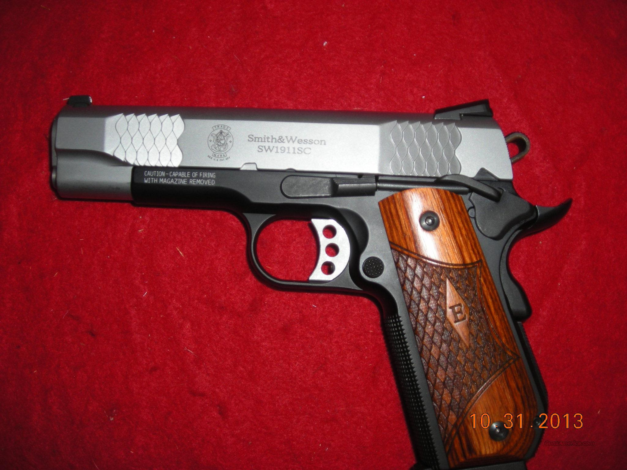 SMITH&WESSON MODEL 1911 SC   Guns > Pistols > Smith & Wesson Pistols - Autos > Alloy Frame