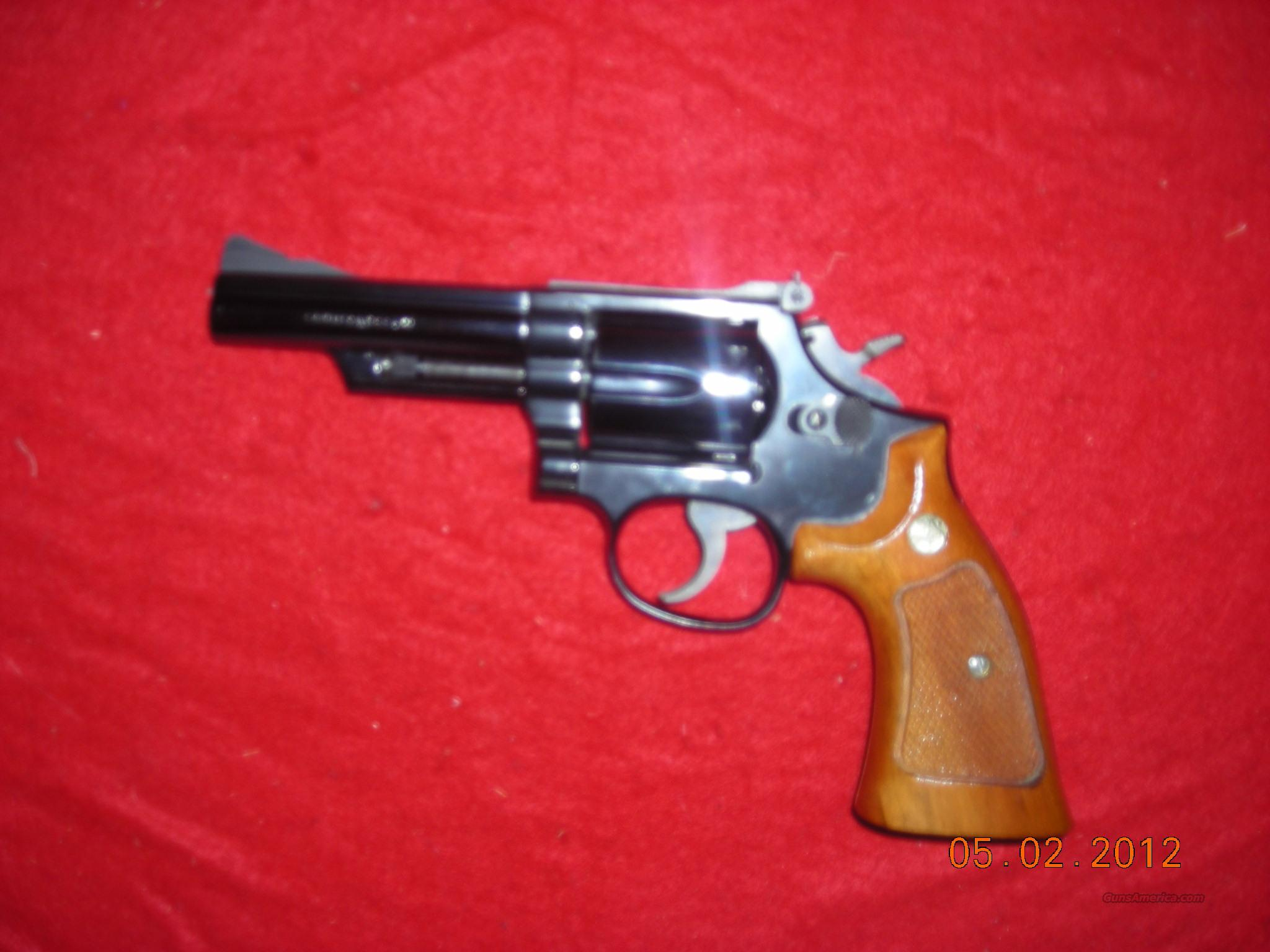 SMITH AND WESSON MODEL 19-4   Guns > Pistols > Smith & Wesson Revolvers > Full Frame Revolver