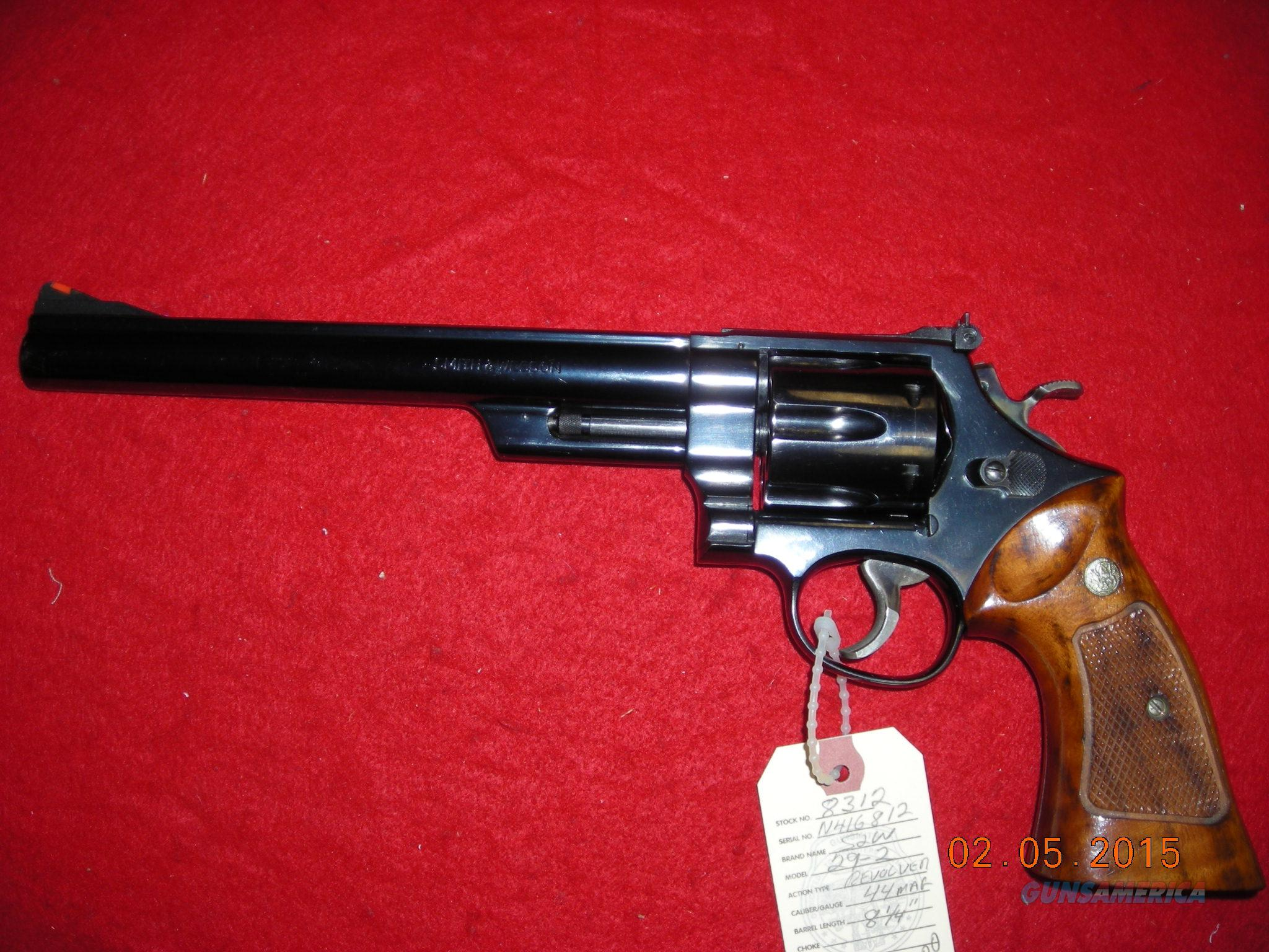 SMITH AND WESSON MODEL 29-2  Guns > Pistols > Smith & Wesson Revolvers > Full Frame Revolver