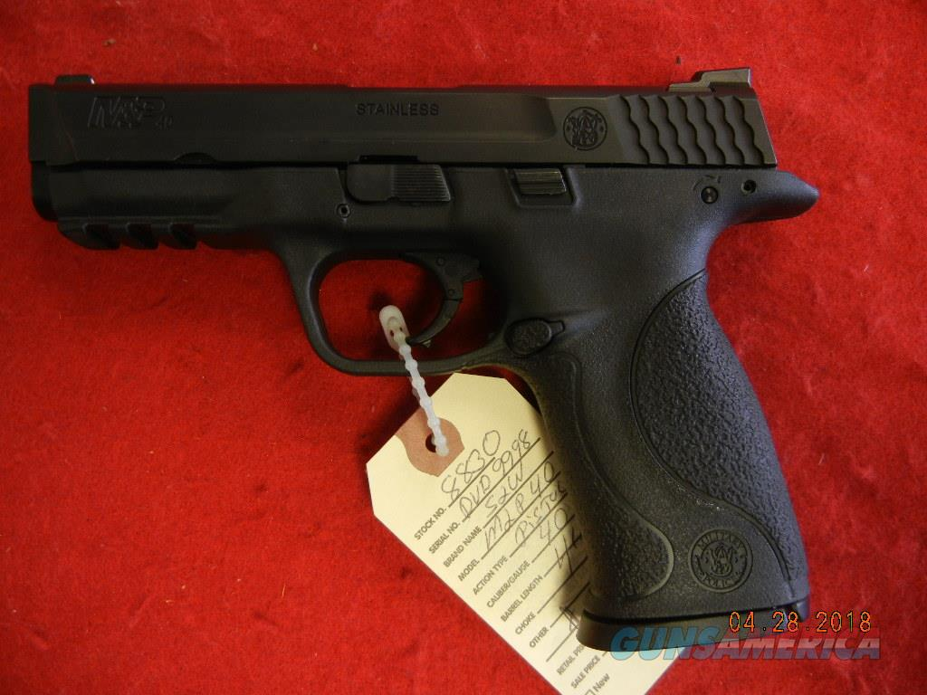 SMITH AND WESSON M&P 40 CAL  Guns > Pistols > Smith & Wesson Pistols - Autos > Polymer Frame
