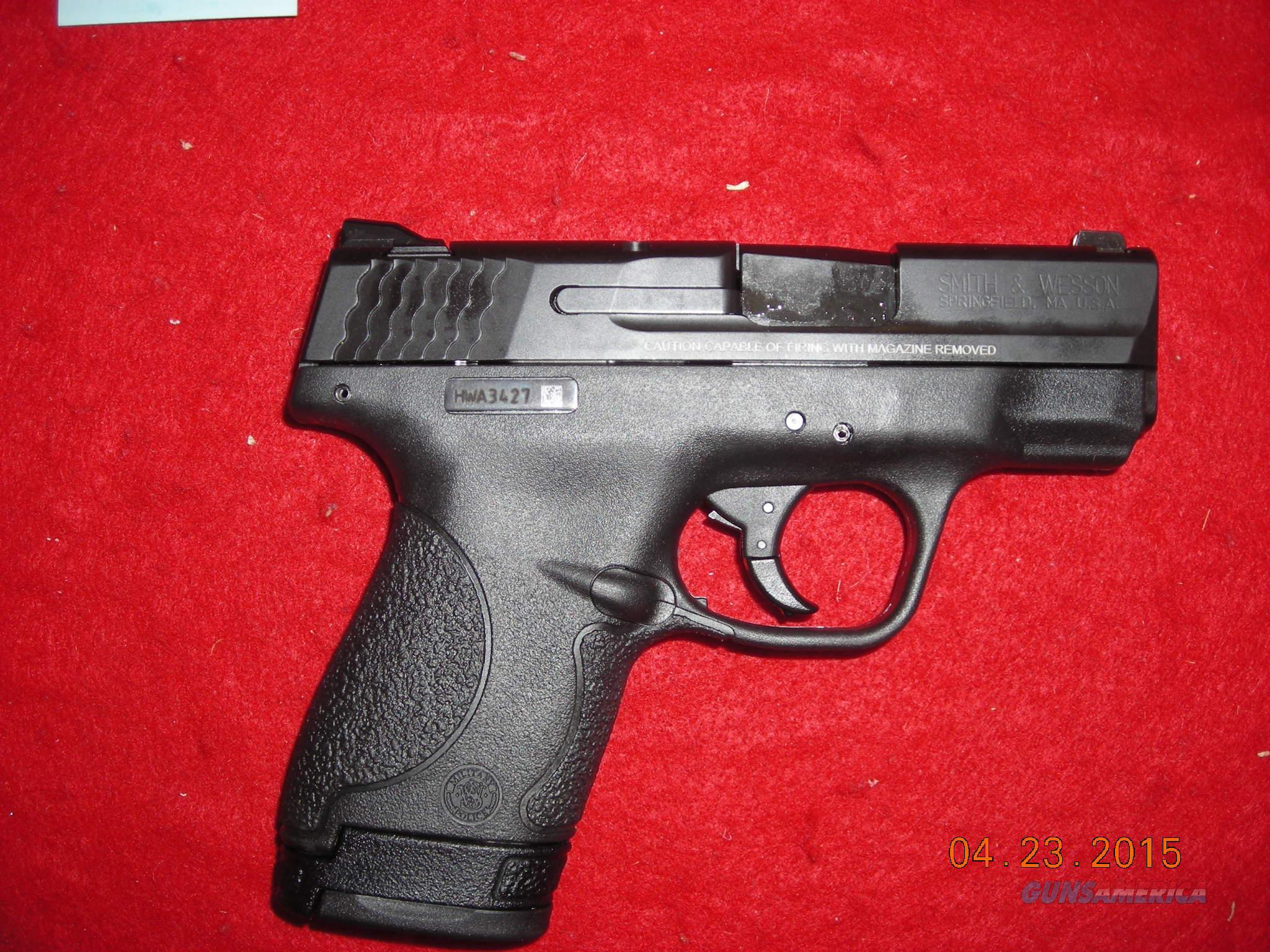 SMITH AND WESSON M&P SHIELD 9MM  Guns > Pistols > Smith & Wesson Pistols - Autos > Polymer Frame