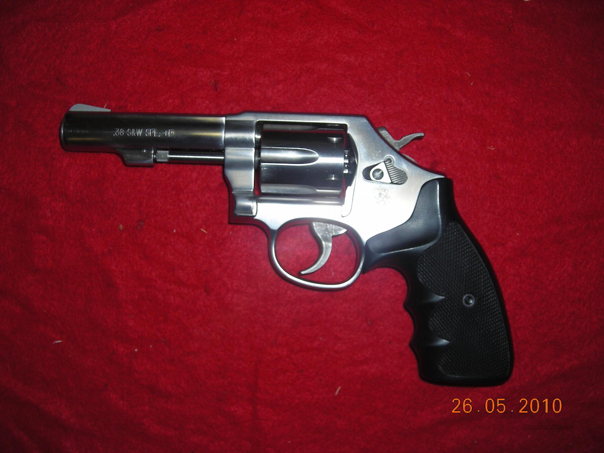 SMITH & WESSON MODEL 64 4IN. STAINLESS   Guns > Pistols > Smith & Wesson Revolvers > Full Frame Revolver