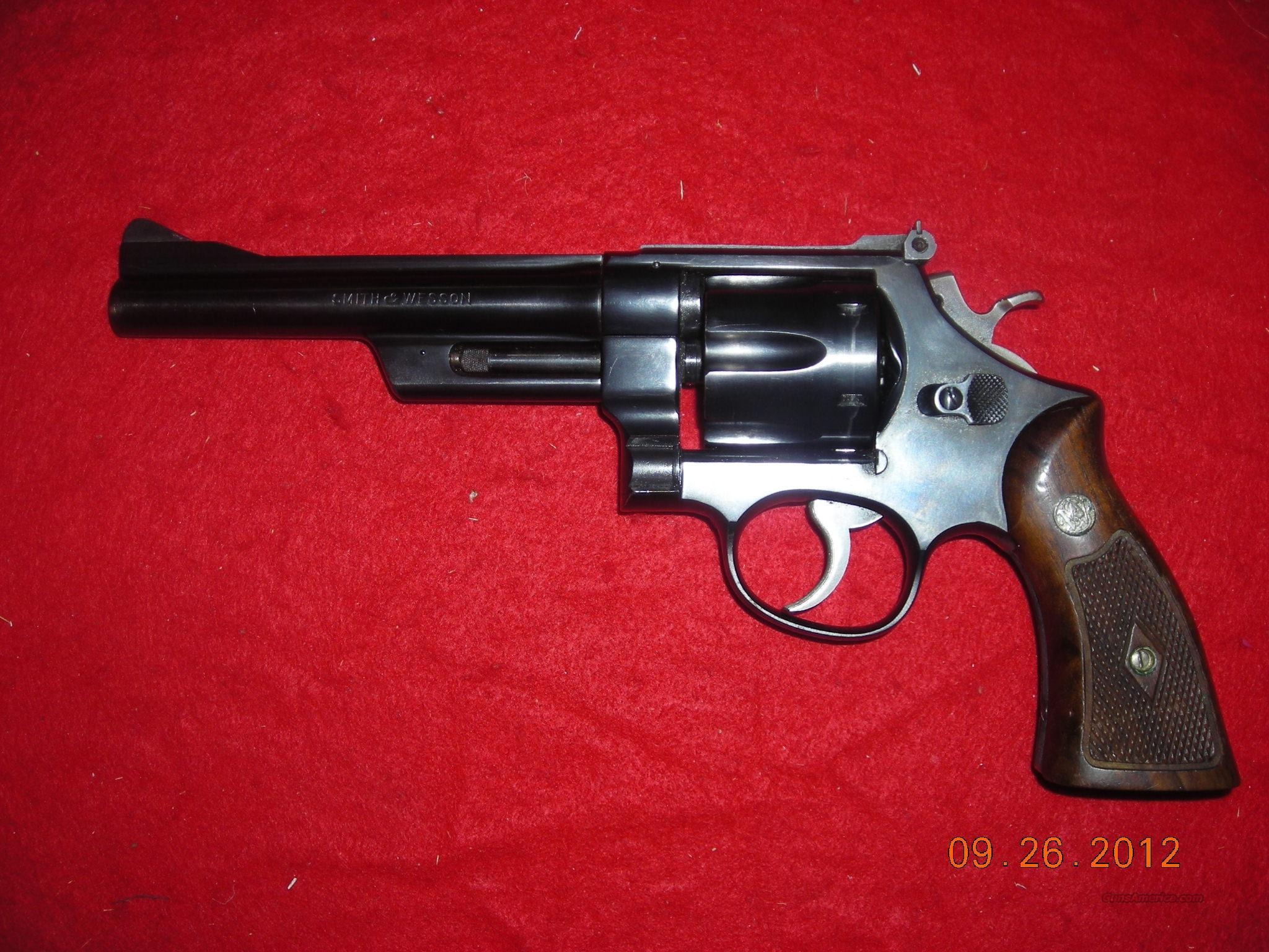 SMITH & WESSON MOD 28  Guns > Pistols > Smith & Wesson Revolvers > Full Frame Revolver