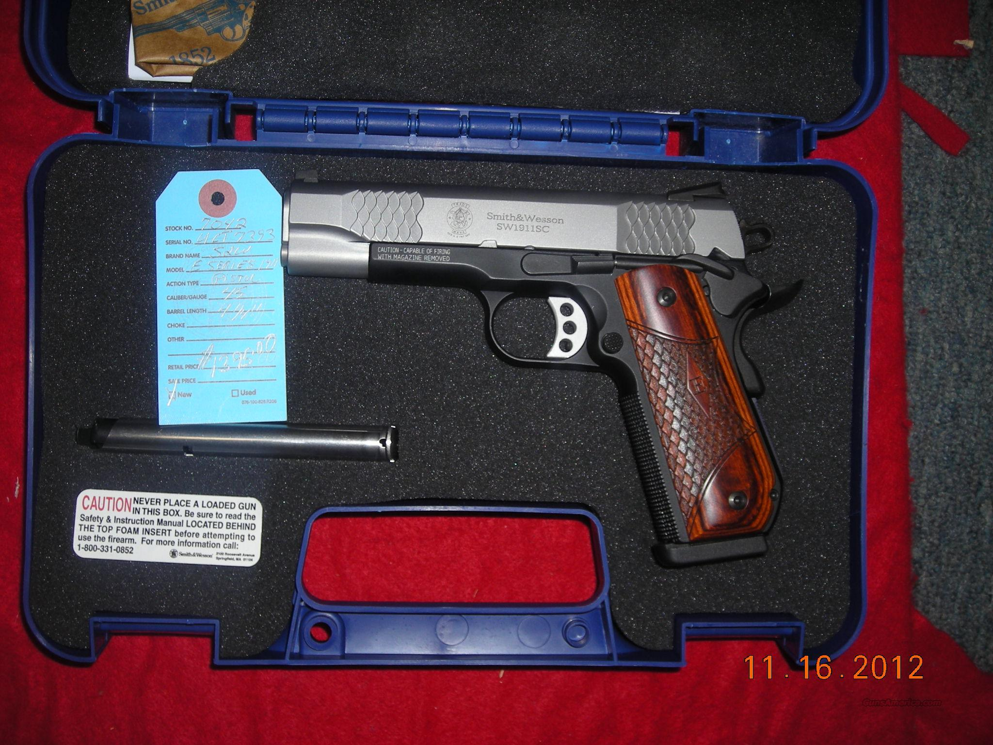 SMITH AND WESSON E-SERIES  Guns > Pistols > Smith & Wesson Pistols - Autos > Alloy Frame