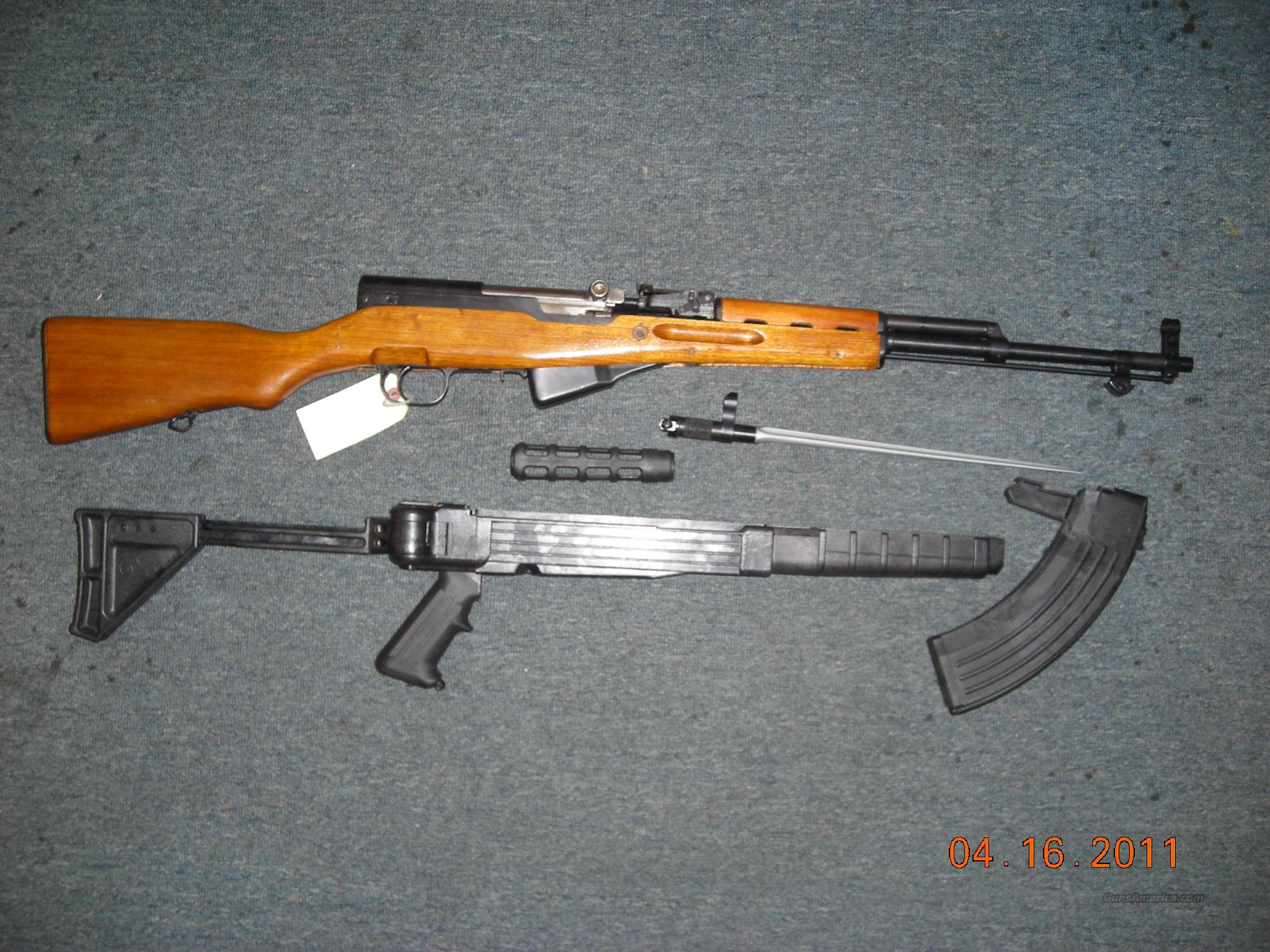 CHINESE SKS   Guns > Rifles > SKS Rifles