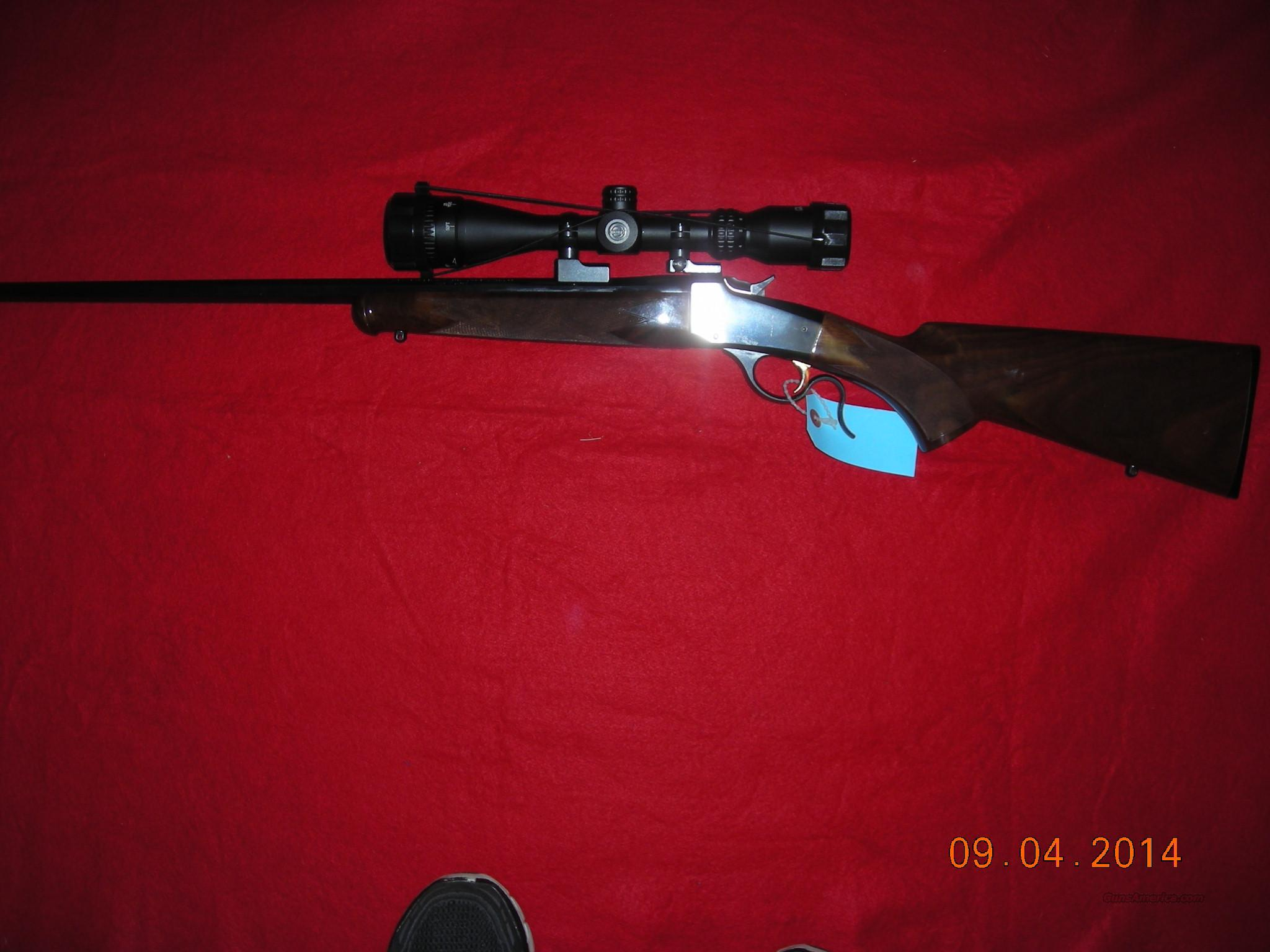 BROWNING 1885 22 HORNET SINGLE SHOT  Guns > Rifles > Browning Rifles > Singe Shot