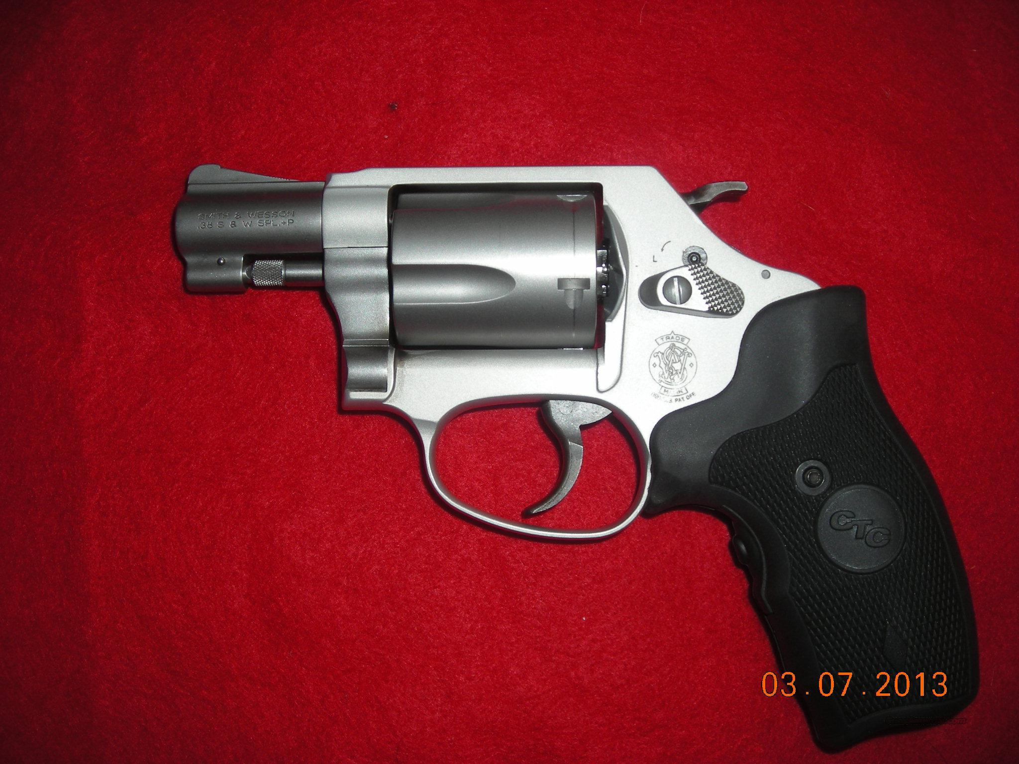 SMITH AND WESSON MODEL 637 W/ LASER  Guns > Pistols > Smith & Wesson Revolvers > Pocket Pistols