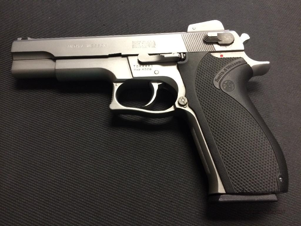 Smith & Wesson 4506  Guns > Pistols > Smith & Wesson Pistols - Autos > Steel Frame