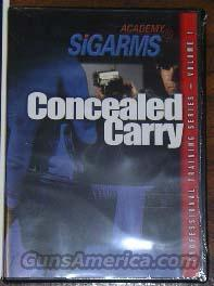 CONCEALED CARRY  Non-Guns > Educational Tapes/Courses