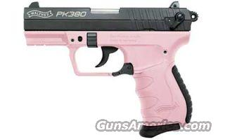 Walther PK380 .380 (WAN40502) Pink New in Box! Last One!  Guns > Pistols > Walther Pistols > Post WWII > PK380