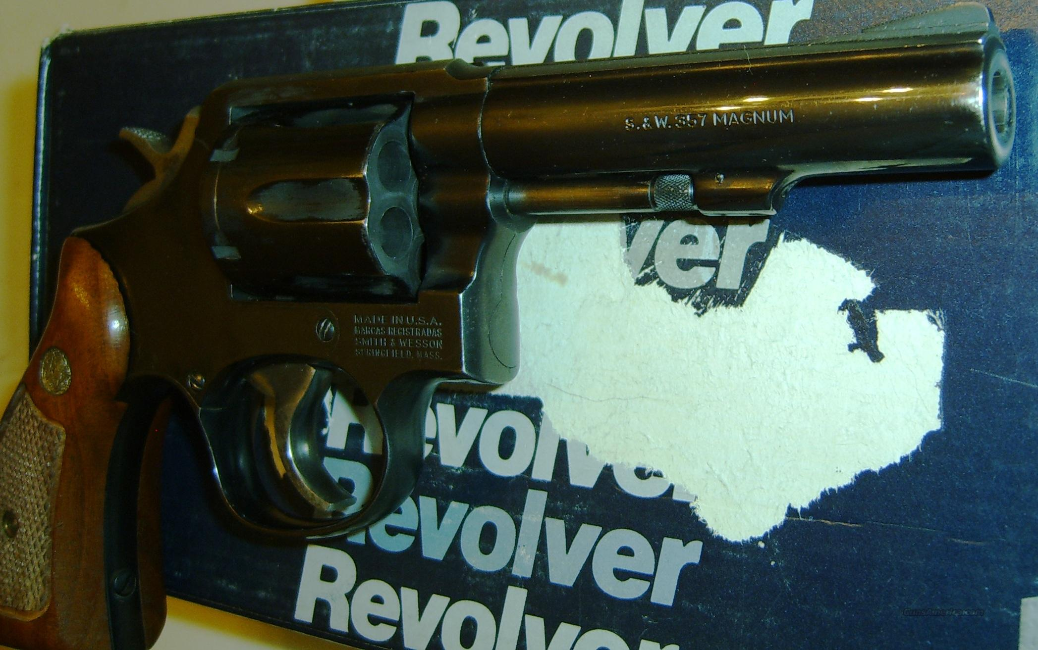 "Smith & Wesson Model 13-3 4""  Guns > Pistols > Smith & Wesson Revolvers > Full Frame Revolver"