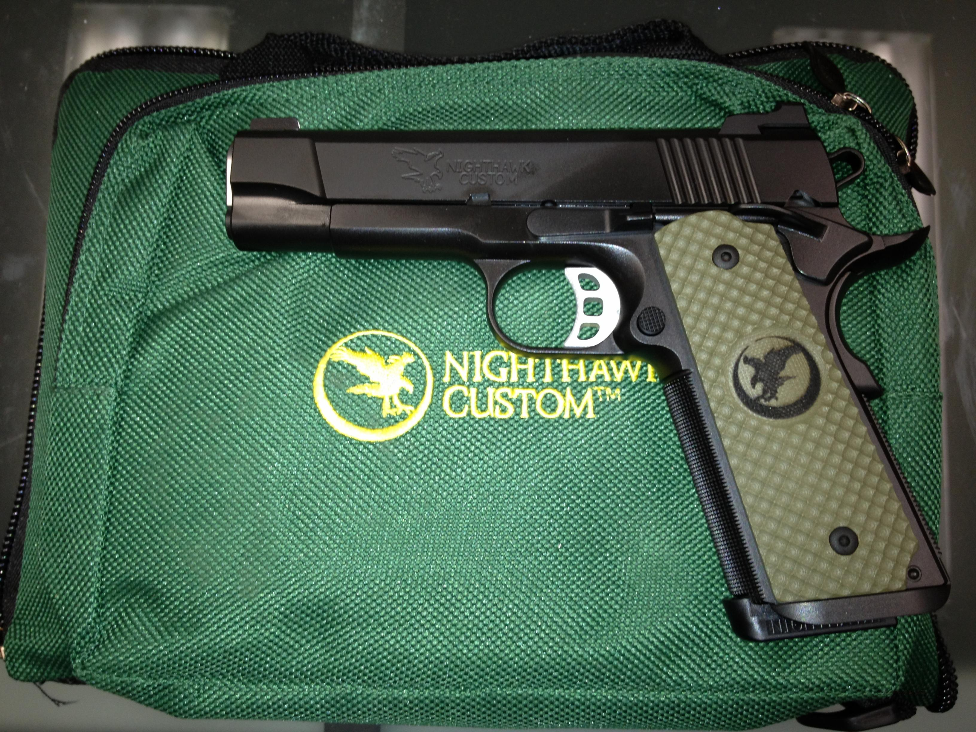 "Nighthawk Custom Falcon .45 ACP 4.25"" Commander Brand New/In Stock  Guns > Pistols > Nighthawk Pistols"