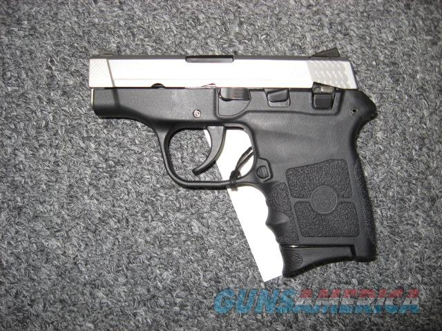 used Smith & Wesson M&P Bodyguard 380 Engraved Stainless Slide  Guns > Pistols > Smith & Wesson Pistols - Autos > Polymer Frame