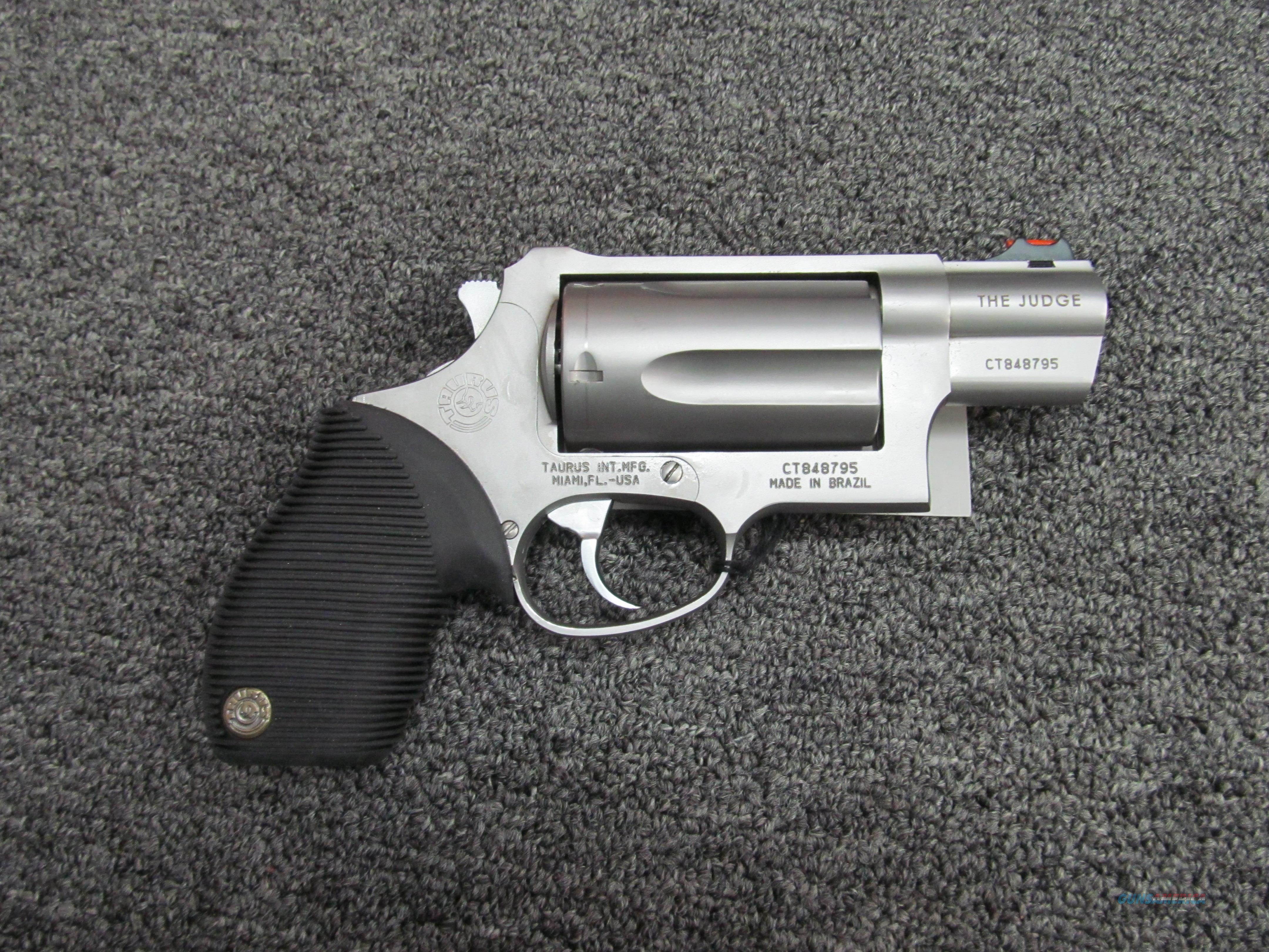 Taurus Judge Public Defender(Used)  Guns > Pistols > Taurus Pistols > Revolvers