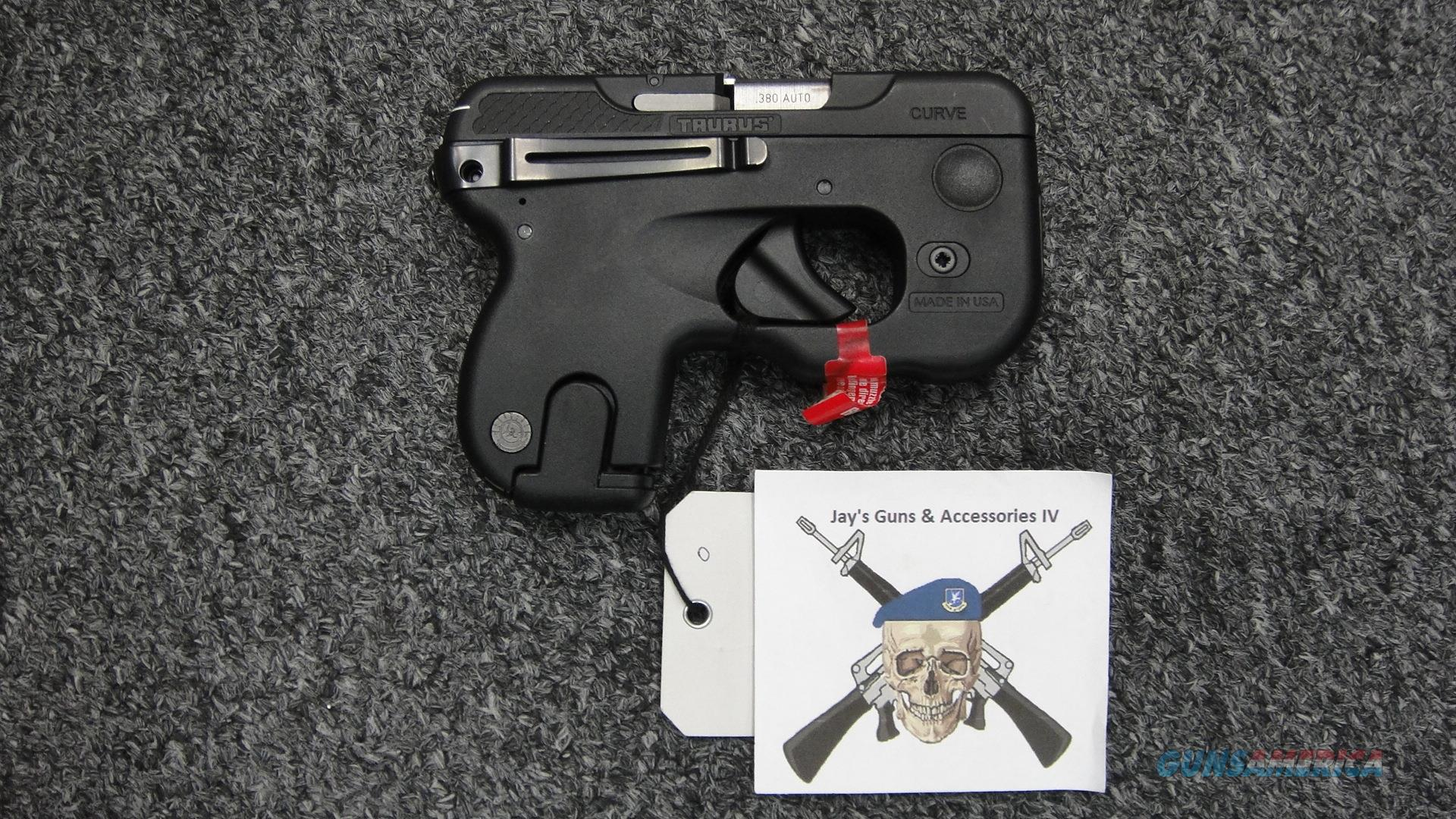 Taurus Curve .380ACP (No light/laser option)  Guns > Pistols > Taurus Pistols > Semi Auto Pistols > Polymer Frame