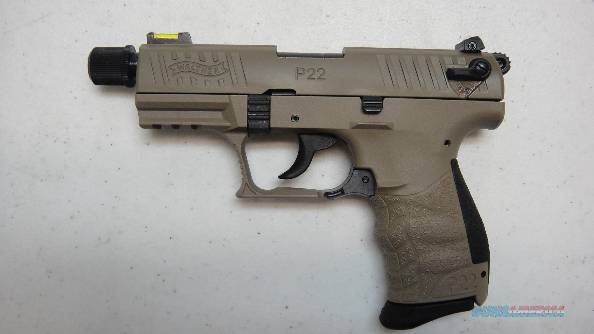 Walther P22 in FDE  Guns > Pistols > Walther Pistols > Post WWII > P22