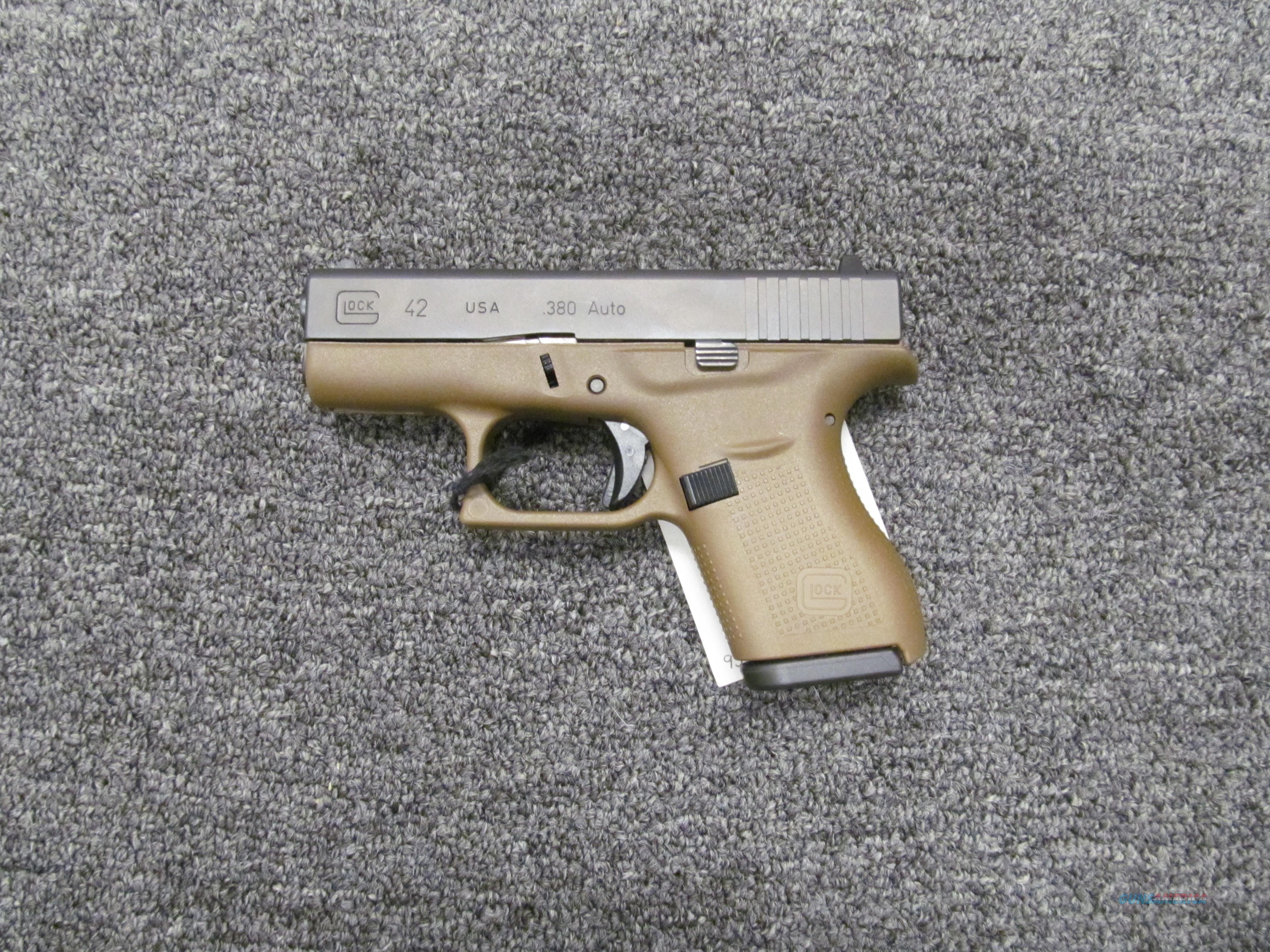 Glock 42 FDE  Guns > Pistols > Glock Pistols > 42