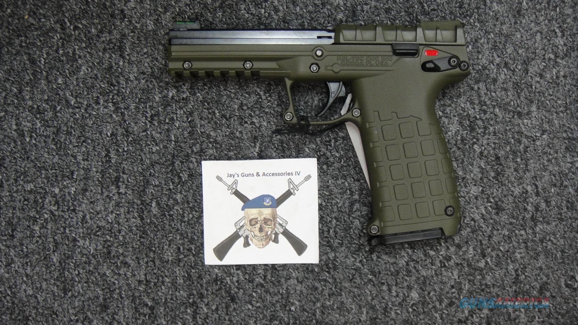 Kel-Tec PMR-30 w/OD Green Finish  Guns > Pistols > Kel-Tec Pistols > Pocket Pistol Type
