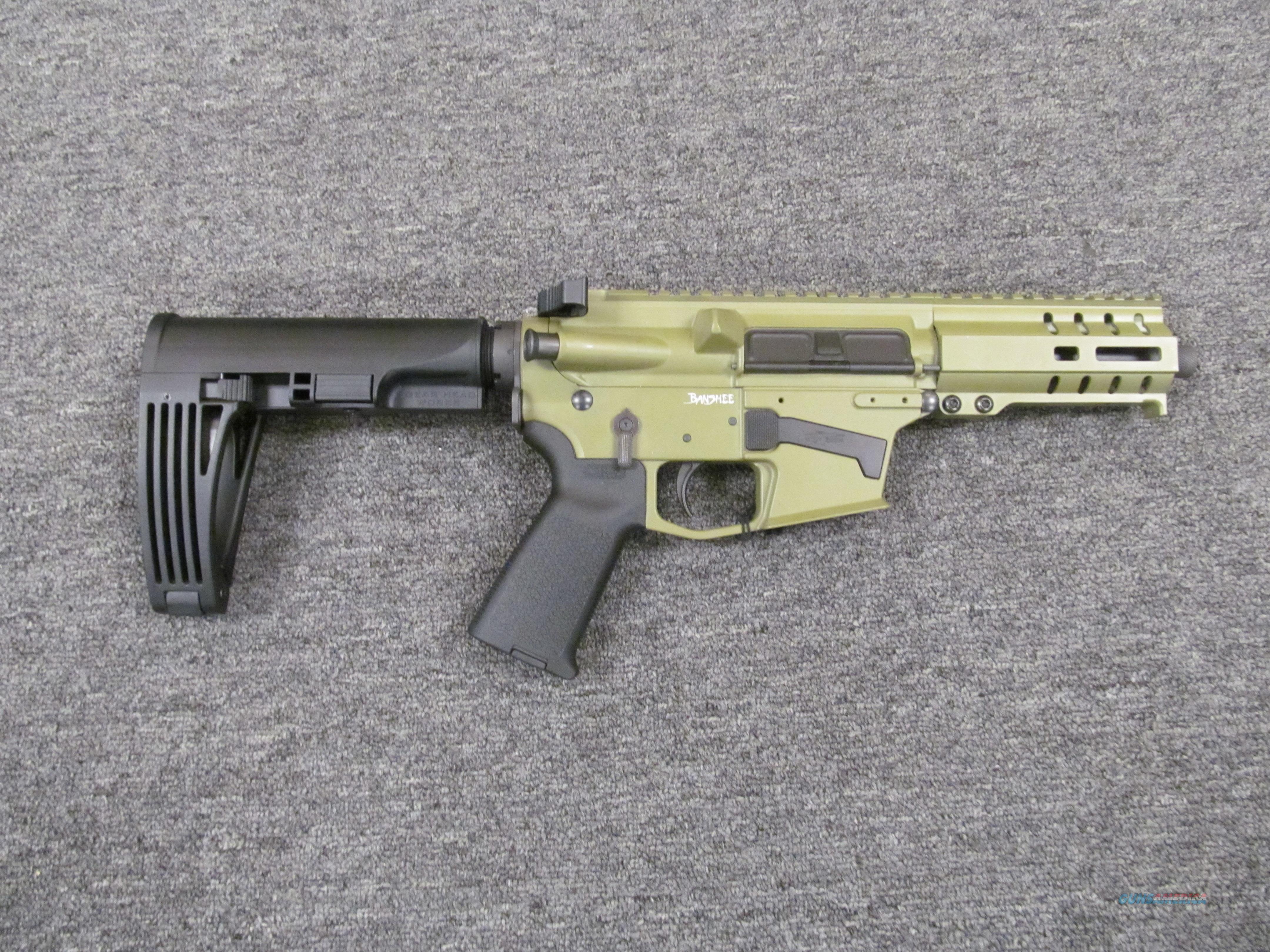 CMMG MK57 Banshee w/Green Finish  Guns > Pistols > CMMG > CMMG Pistols