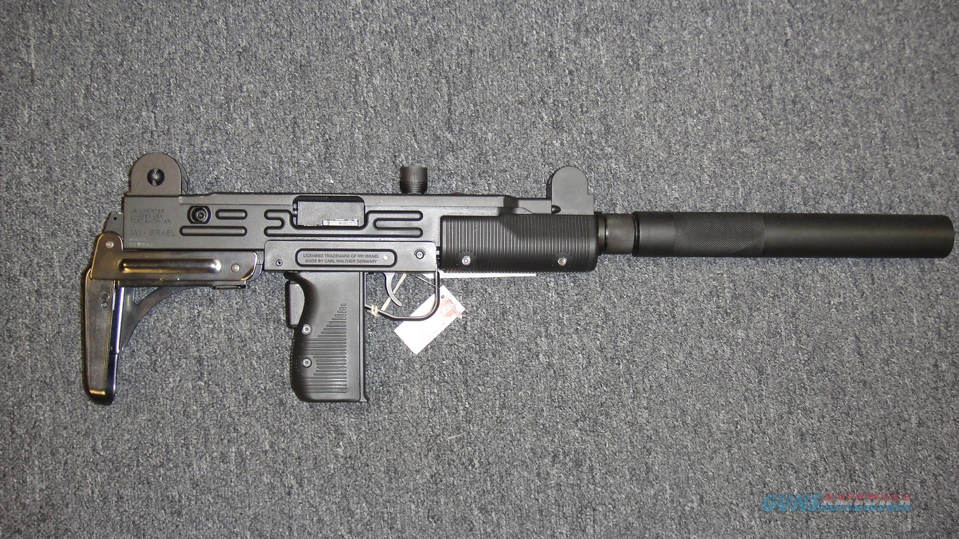 IWI/Walther Uzi .22LR Rifle  Guns > Rifles > IWI Rifles