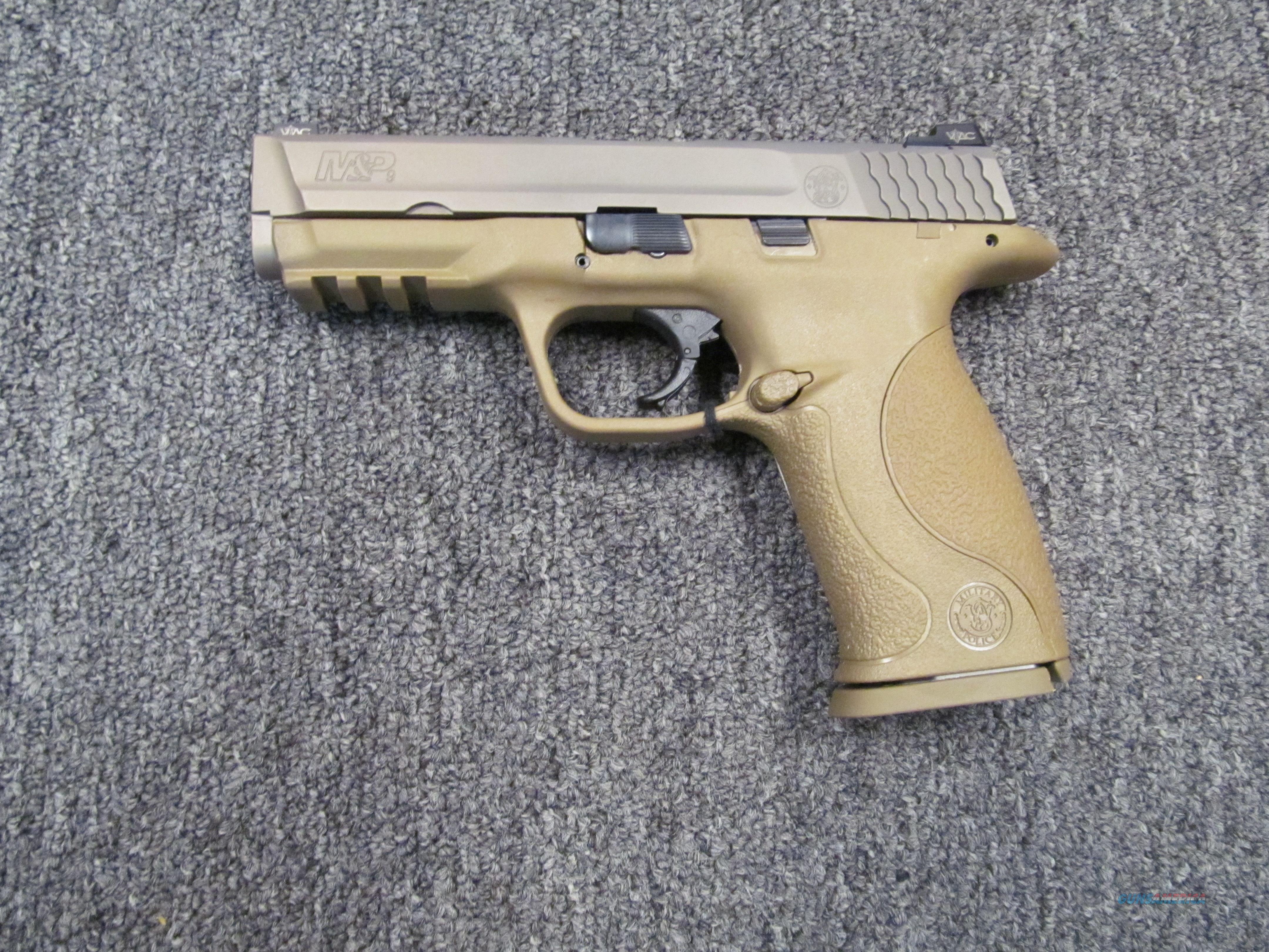 Smith & Wesson M&P9 VTAC  Guns > Pistols > Smith & Wesson Pistols - Autos > Polymer Frame