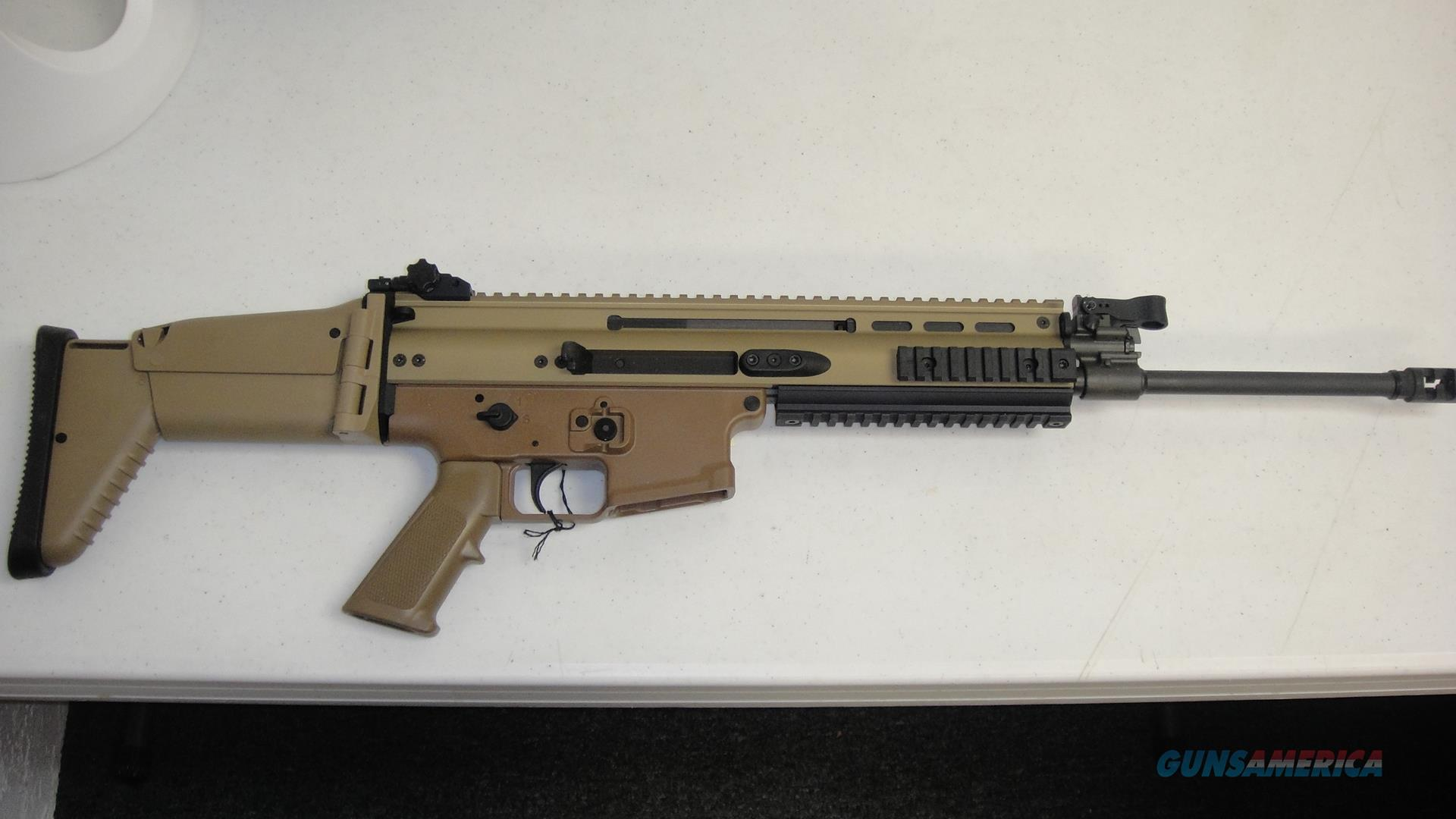 FNH SCAR 16S  Guns > Rifles > FNH - Fabrique Nationale (FN) Rifles > Semi-auto > SCAR