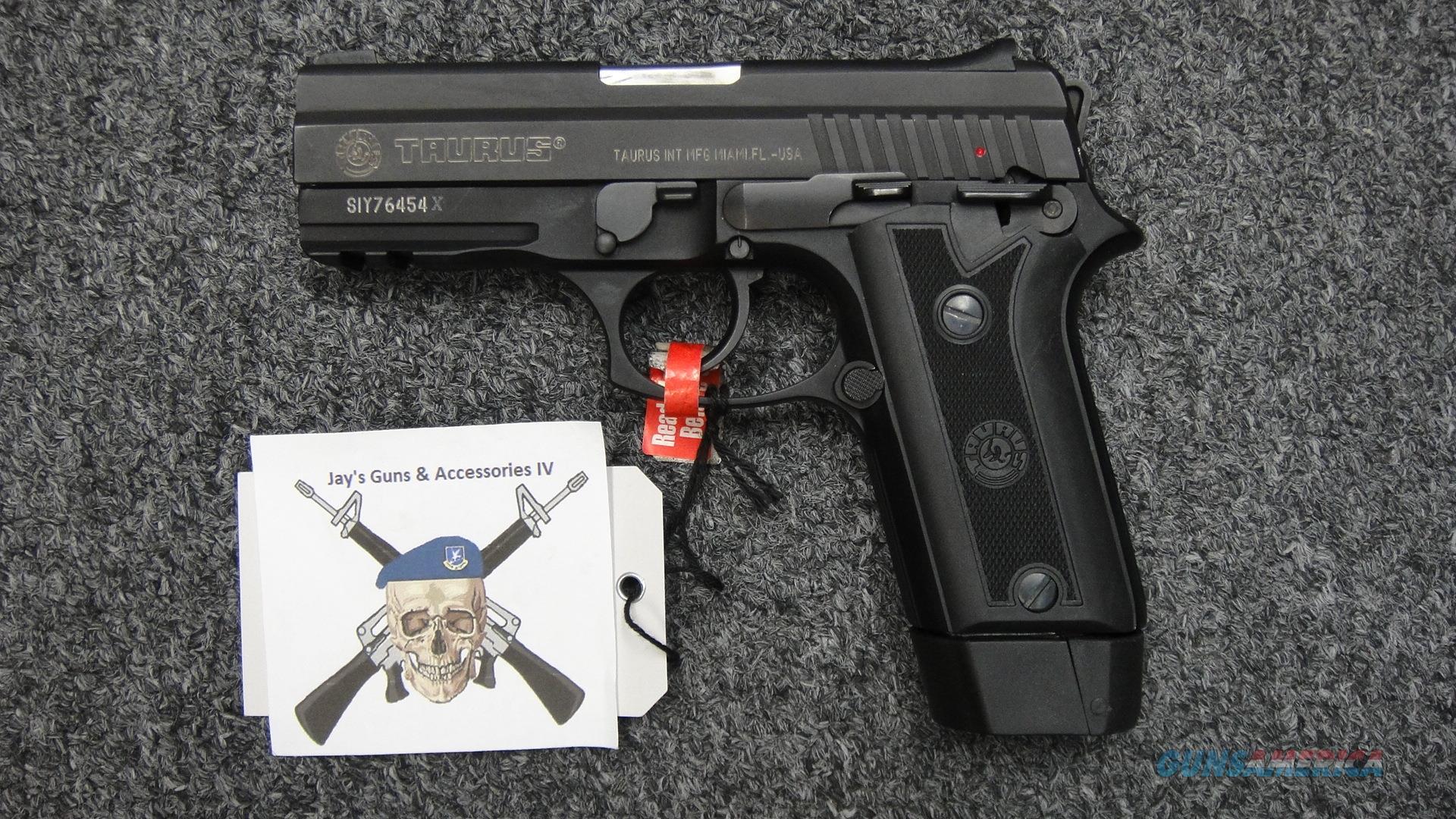 Taurus PT940 .40S&W 12+1  Guns > Pistols > Taurus Pistols > Semi Auto Pistols > Polymer Frame