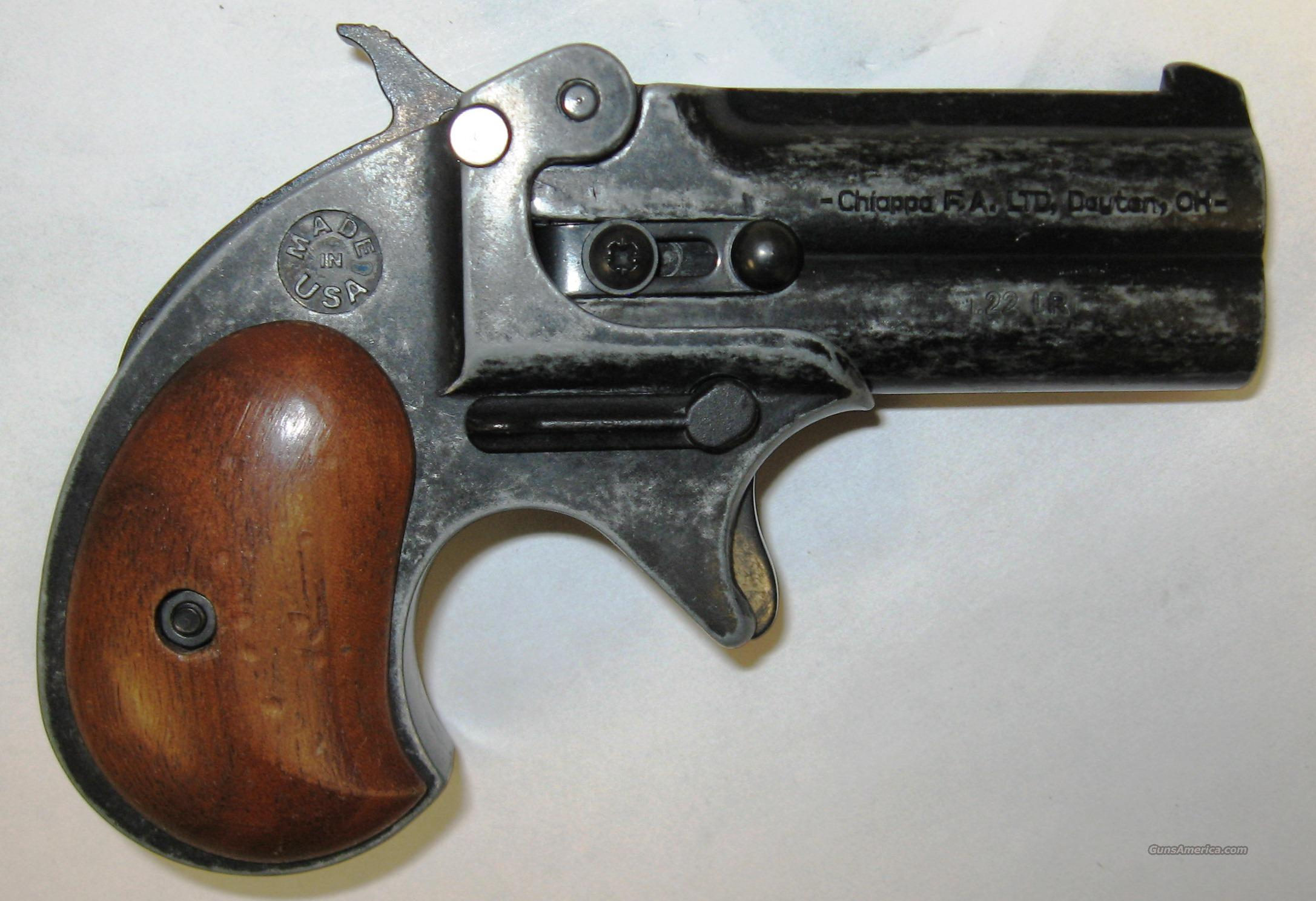 Chiappa Firearms Double Eagle Derringer .22LR  Guns > Pistols > Chiappa Pistols & Revolvers > .22 Cal Other