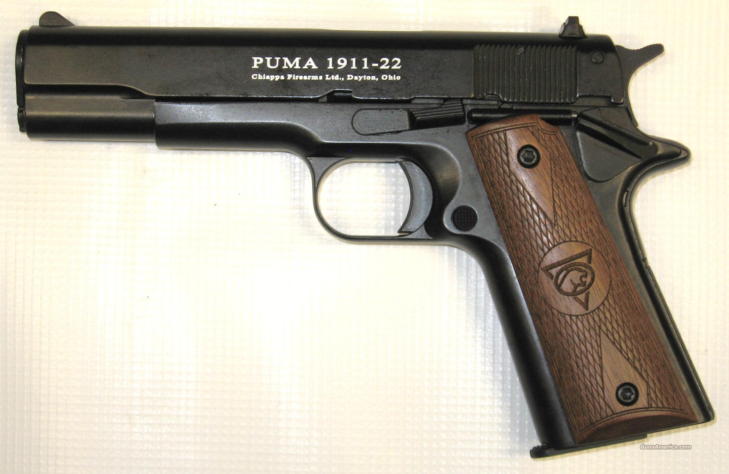 Chiappa Firearms Puma 1911 .22LR  Guns > Pistols > Chiappa Pistols & Revolvers > .22 Cal 1911