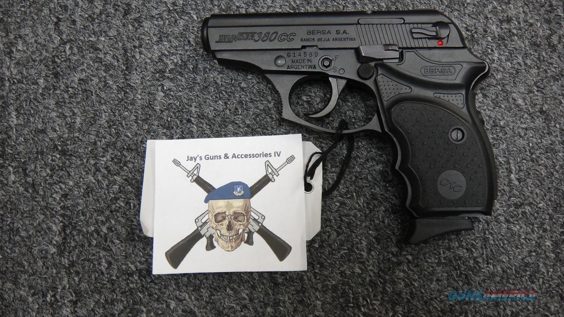 Bersa Thunder 380CC w/ CTC lasergrip  Guns > Pistols > Bersa Pistols