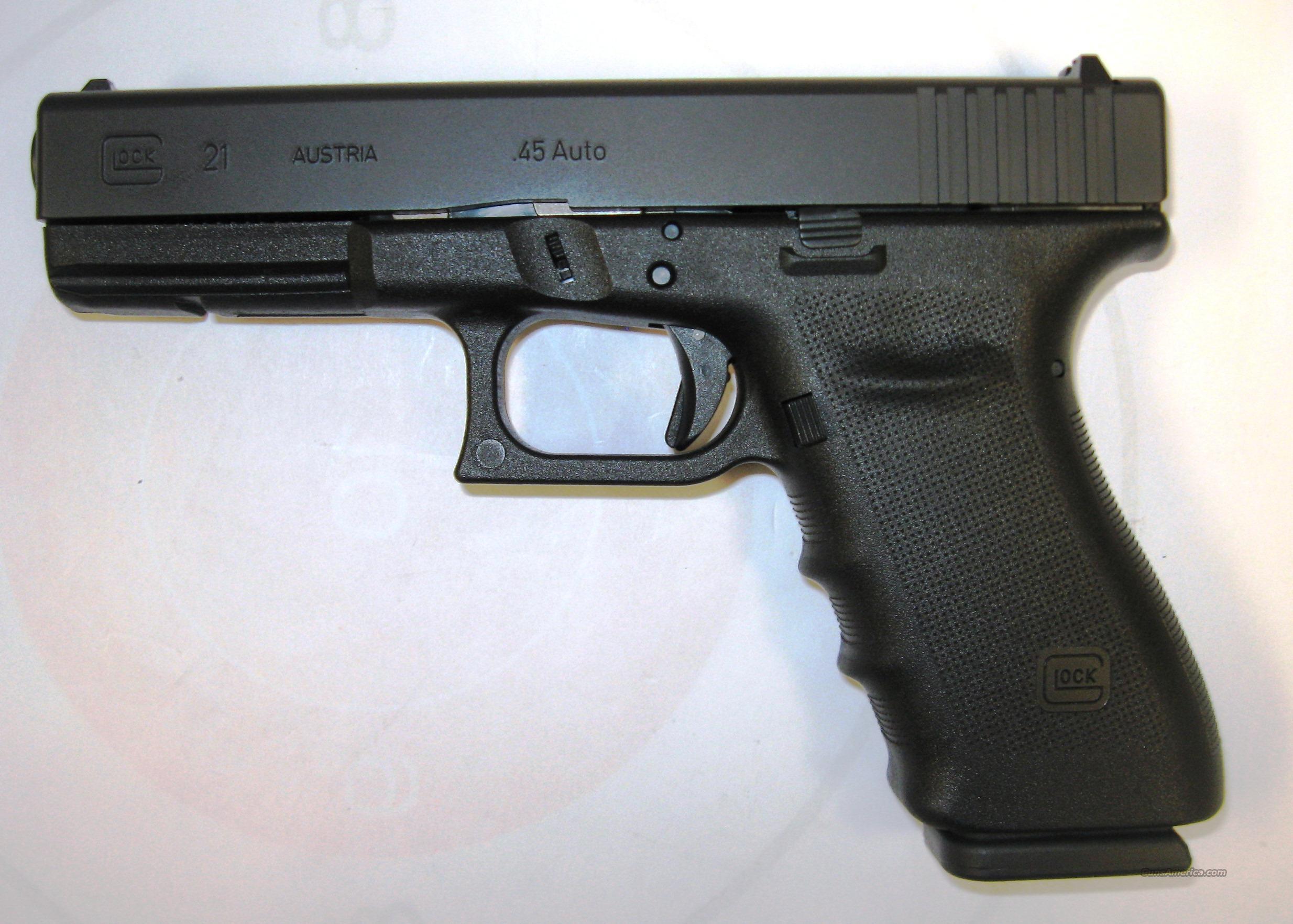Central Auto Sales >> Glock 21 SF RTF2 for sale