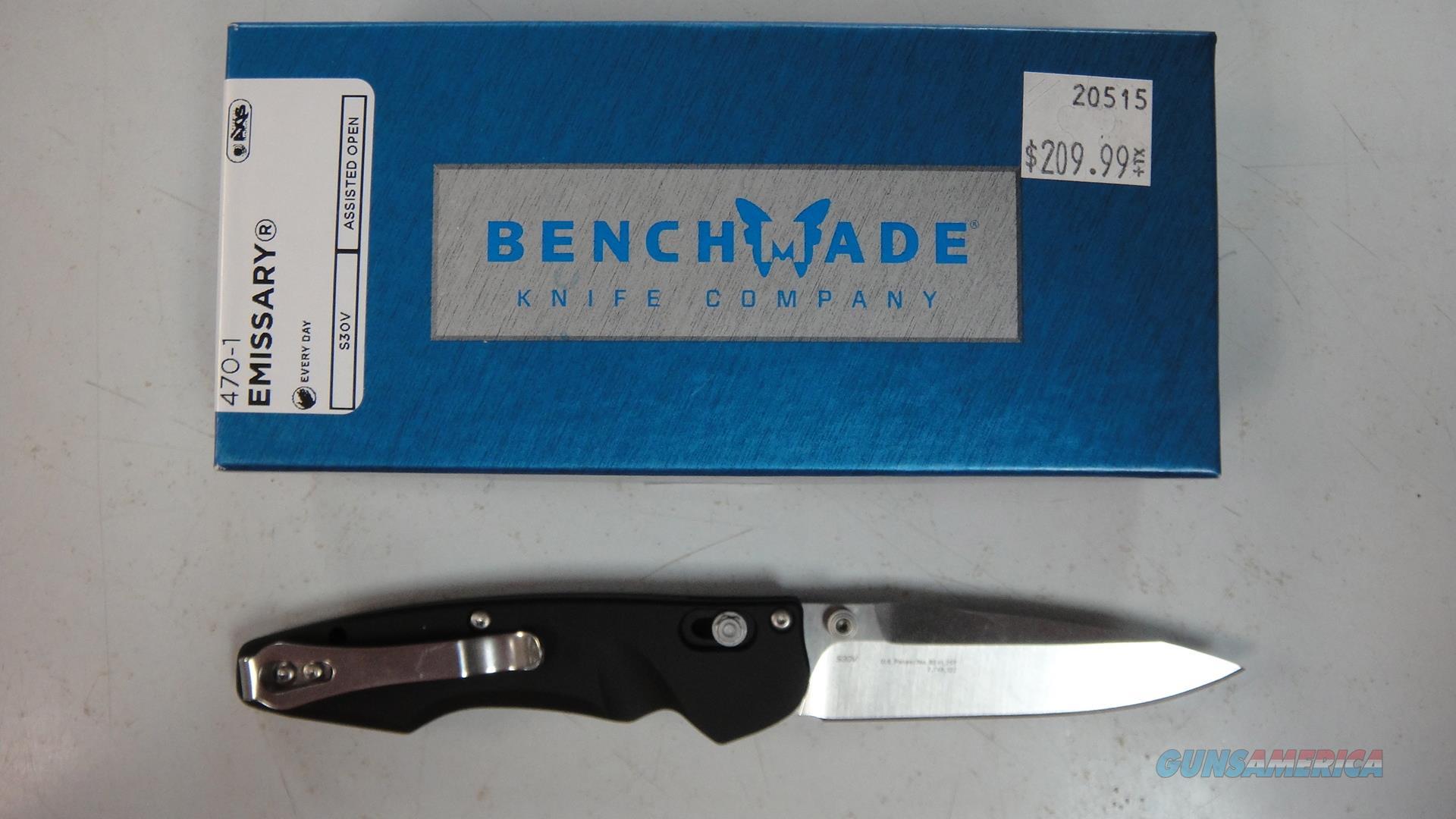 Benchmade 470-1 Emissary (Mini)  Non-Guns > Knives/Swords > Knives > Folding Blade > Hand Made