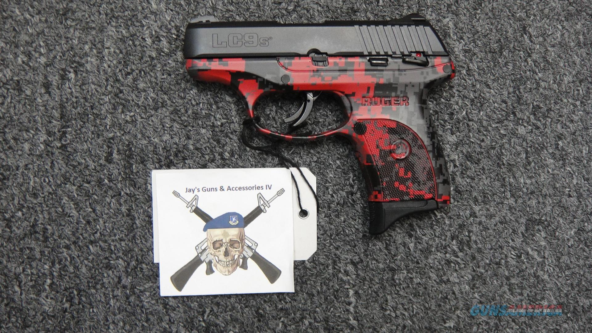 Ruger LC9s Red Digital Camo 9mm  Guns > Pistols > Ruger Semi-Auto Pistols > LC9