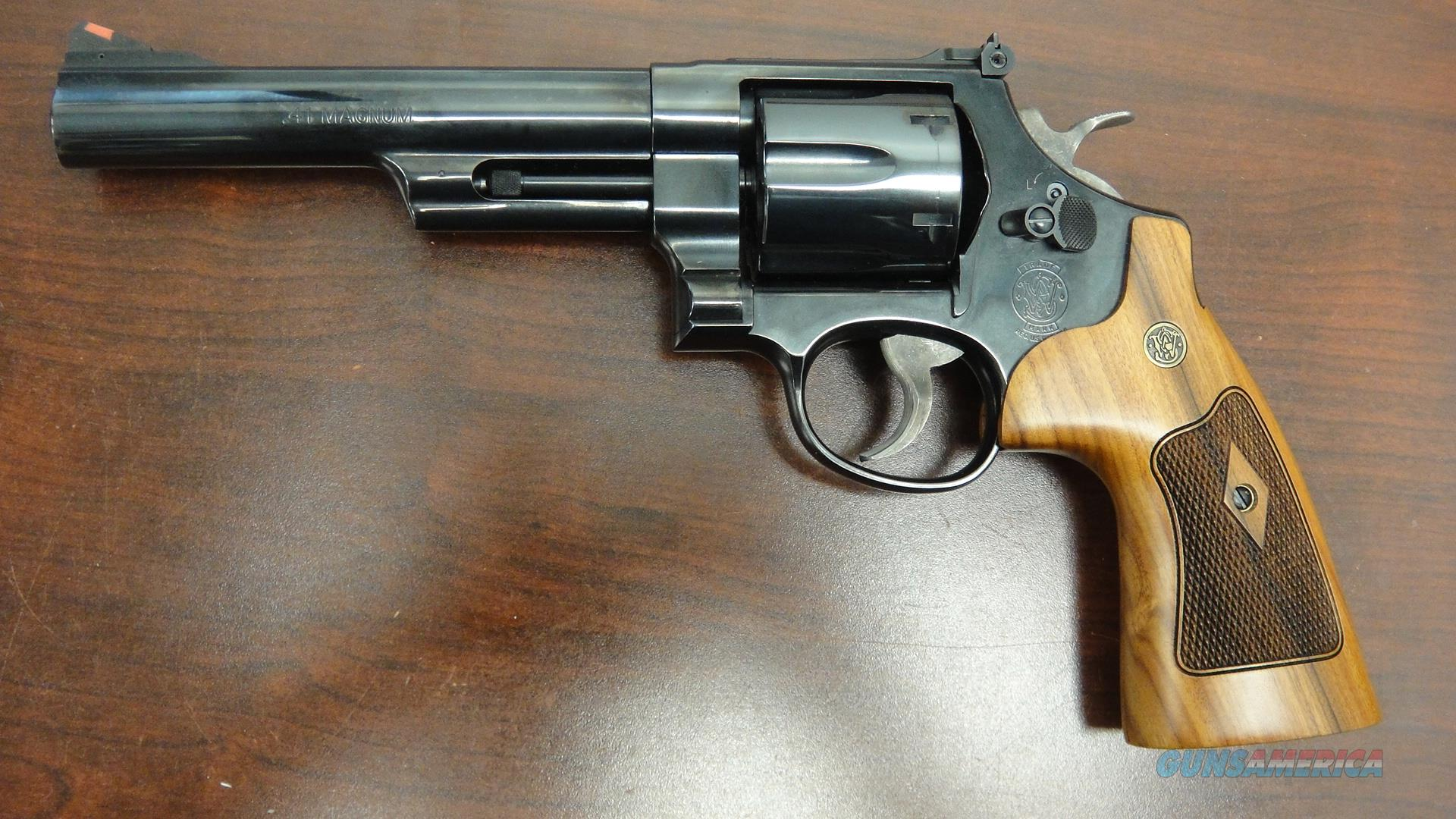 Smith and Wesson 57-6 .41 Magnum  Guns > Pistols > Smith & Wesson Revolvers > Full Frame Revolver