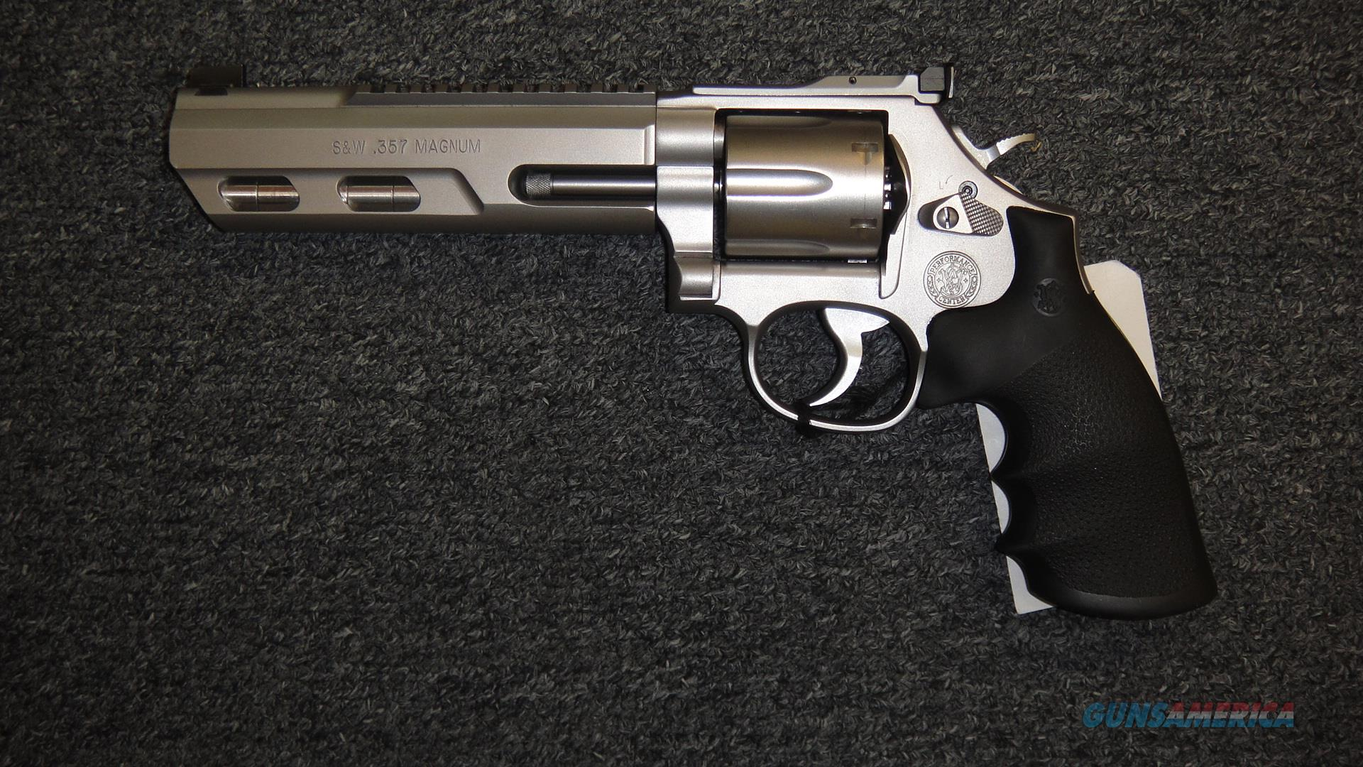 Smith & Wesson 686-6 Performance Center Competitor .357 Magnum  Guns > Pistols > Smith & Wesson Revolvers > Med. Frame ( K/L )