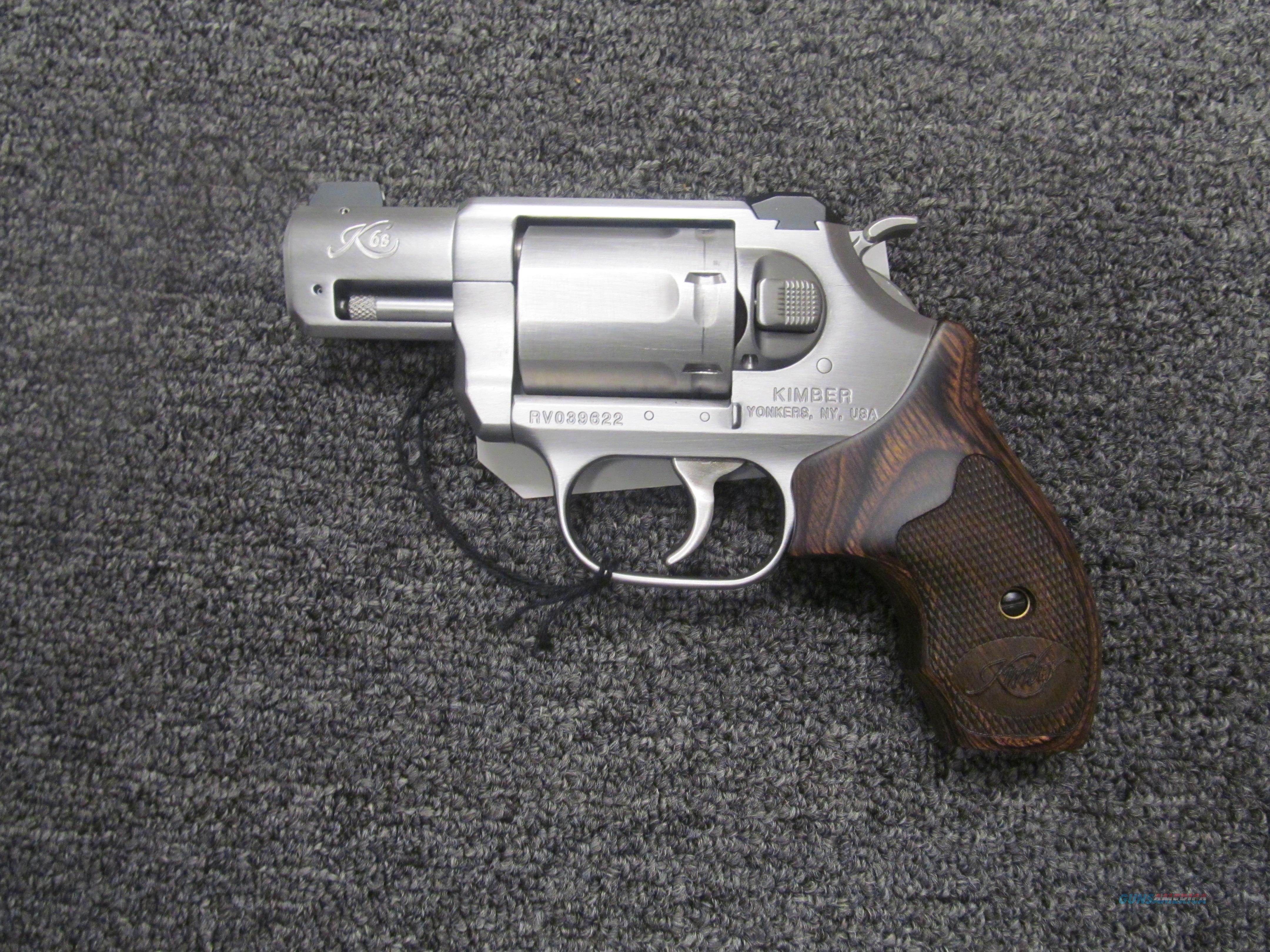 Kimber K6S DA/SA   Guns > Pistols > Kimber of America Pistols > Revolvers