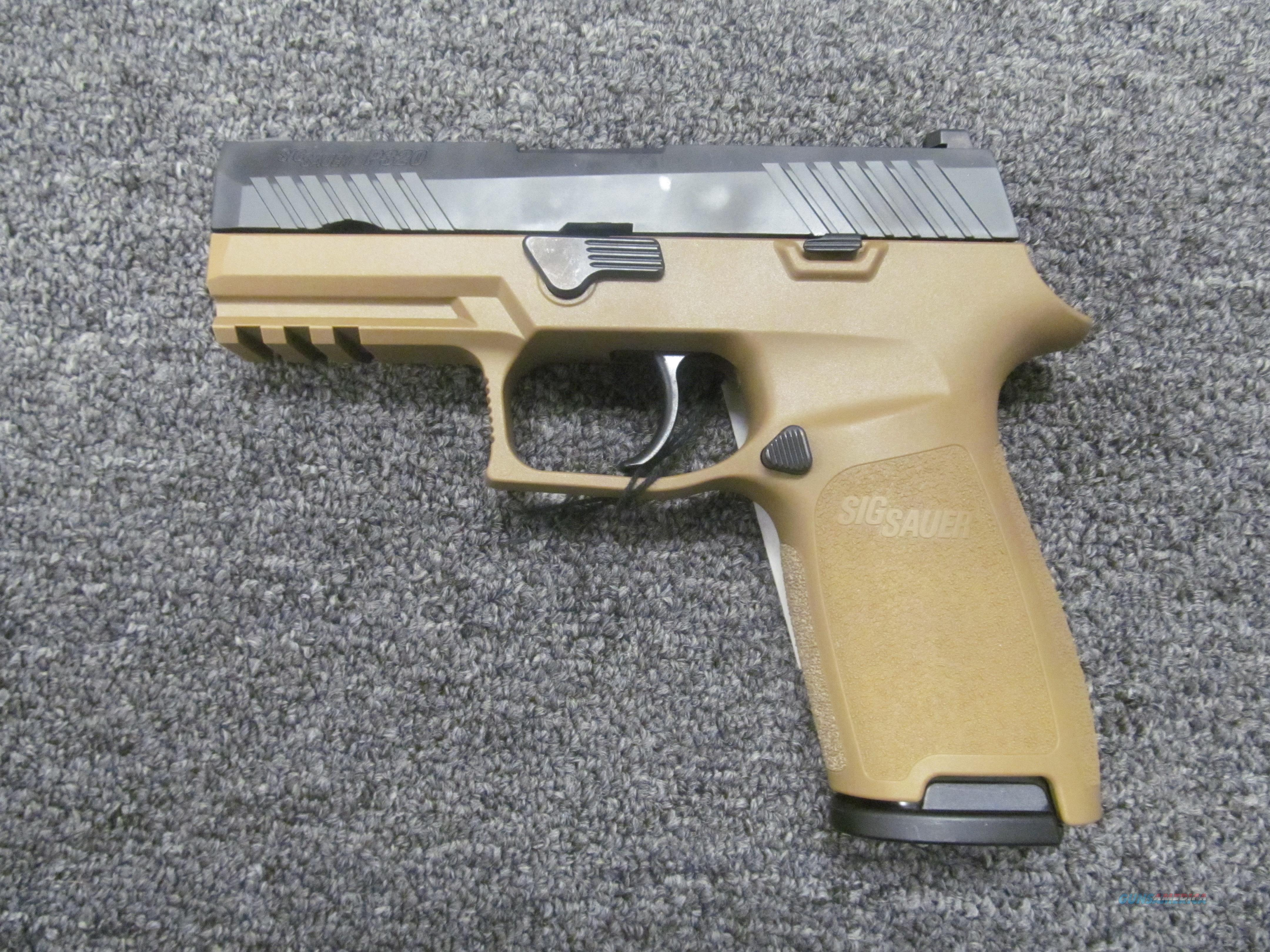 Sig Sauer P320 Copperhead (320CA-9-RT-CH)  Guns > Pistols > Sig - Sauer/Sigarms Pistols > P320