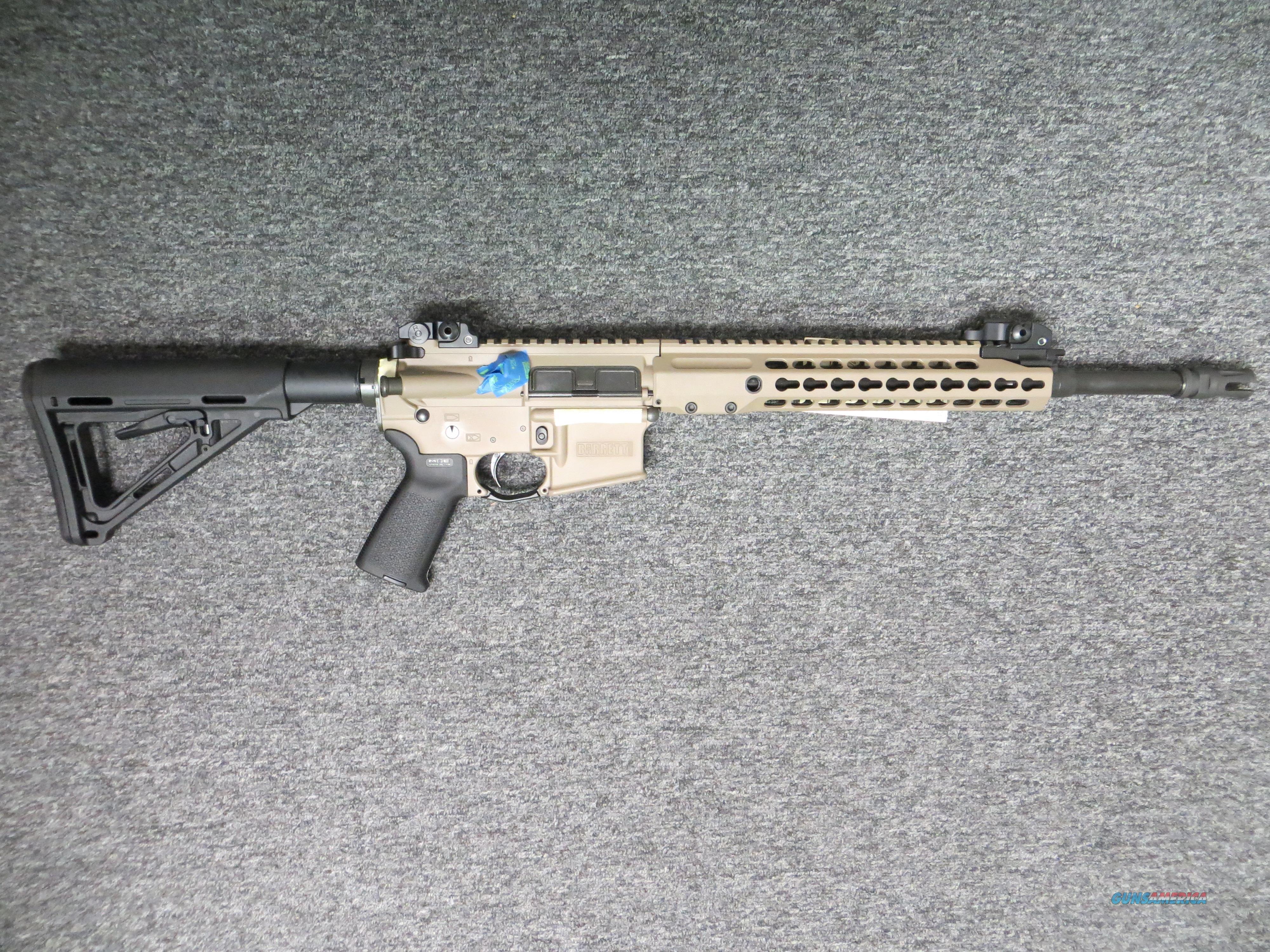 Barrett REC 7 (GEN 2, Flat Dark Earth, 6.8 spc)  Guns > Rifles > Barrett Rifles