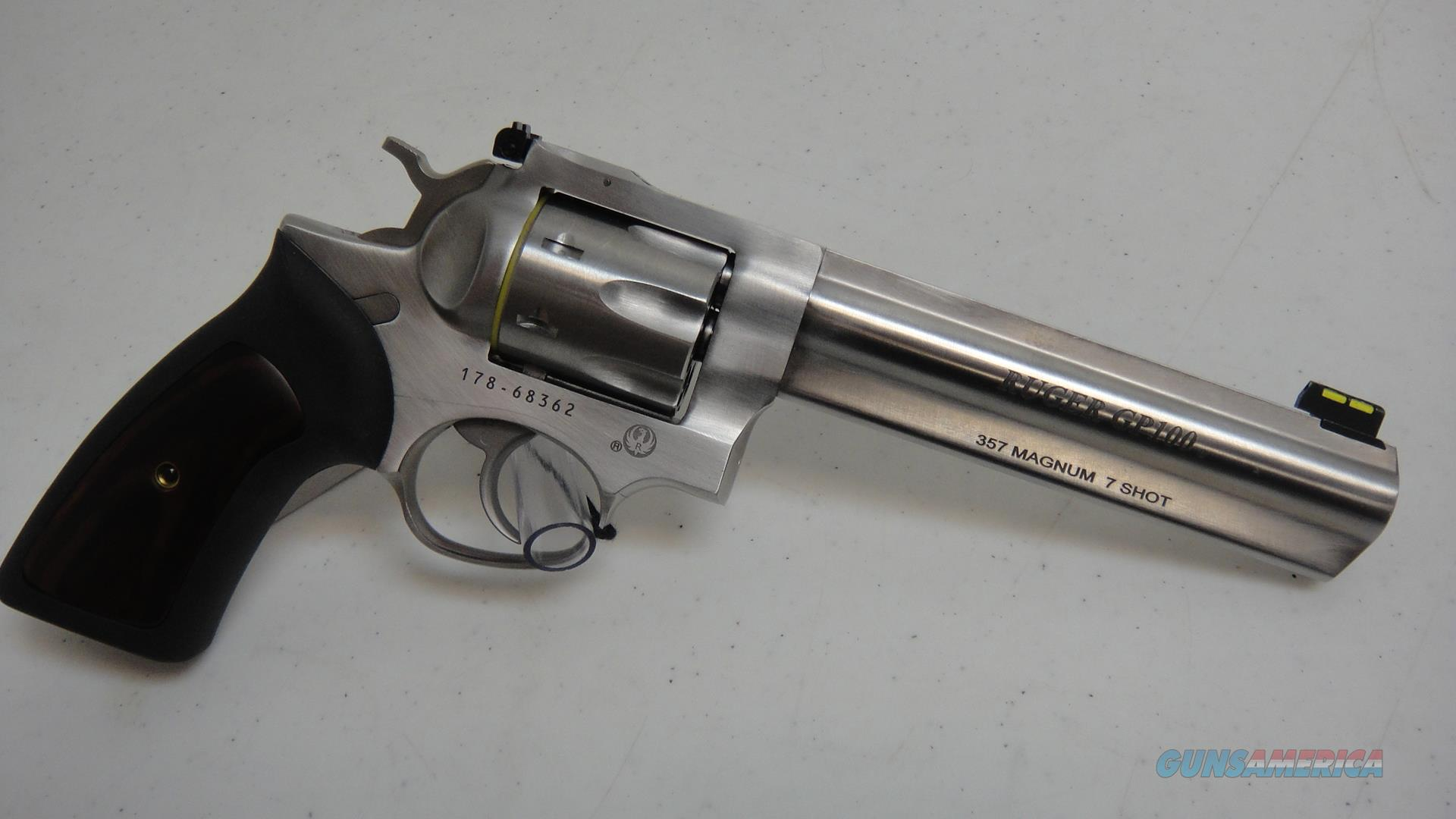 Ruger GP100 (7 shot)  Guns > Pistols > Ruger Double Action Revolver > GP100