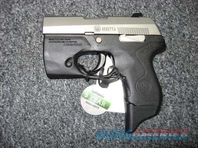 Beretta Pico .380ACP w/built in LaserMax flashlight  Guns > Pistols > Beretta Pistols > Polymer Frame