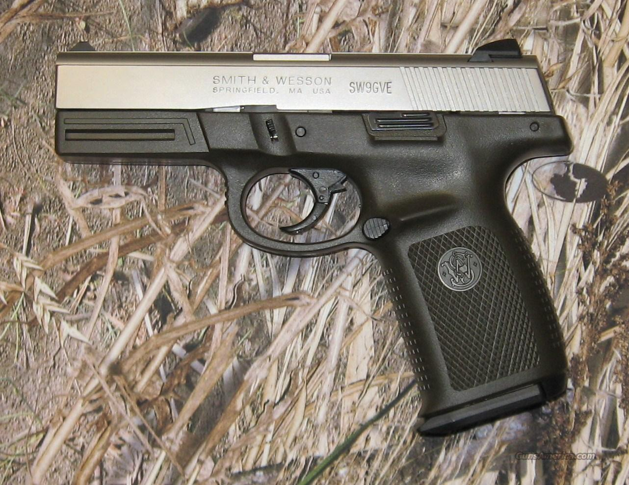 Smith & Wesson SW9GVE  Guns > Pistols > Smith & Wesson Pistols - Autos > Polymer Frame
