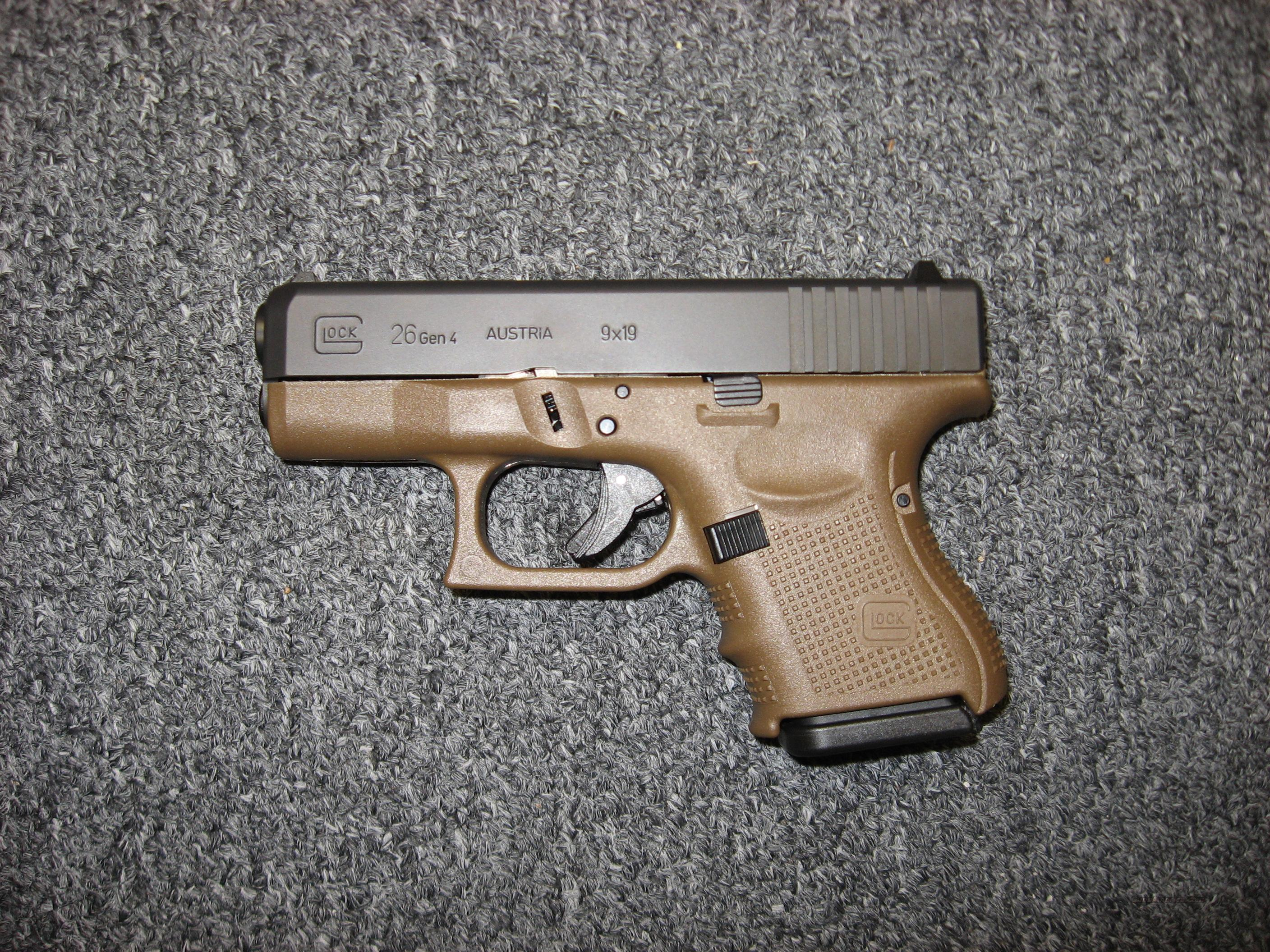 how to hold a glock 26
