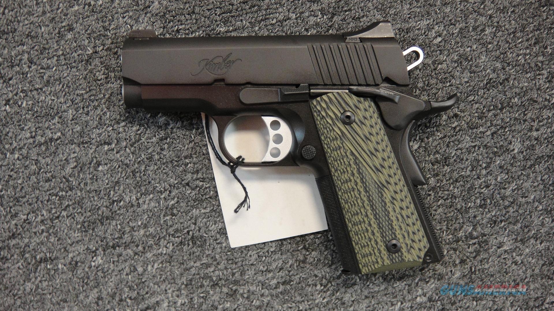 Kimber Ultra TLE II .45ACP  Guns > Pistols > Kimber of America Pistols > 1911