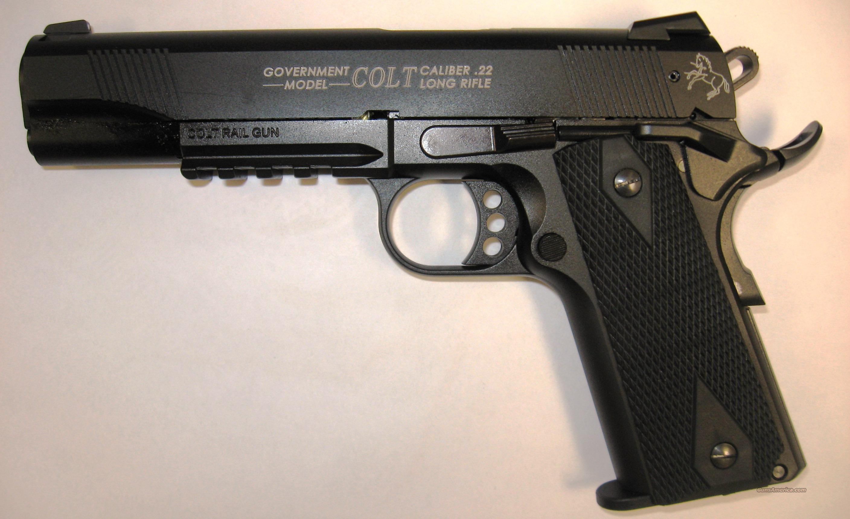 Jay Auto Sales >> Colt Government Model 1911 .22LR Rail Gun for sale