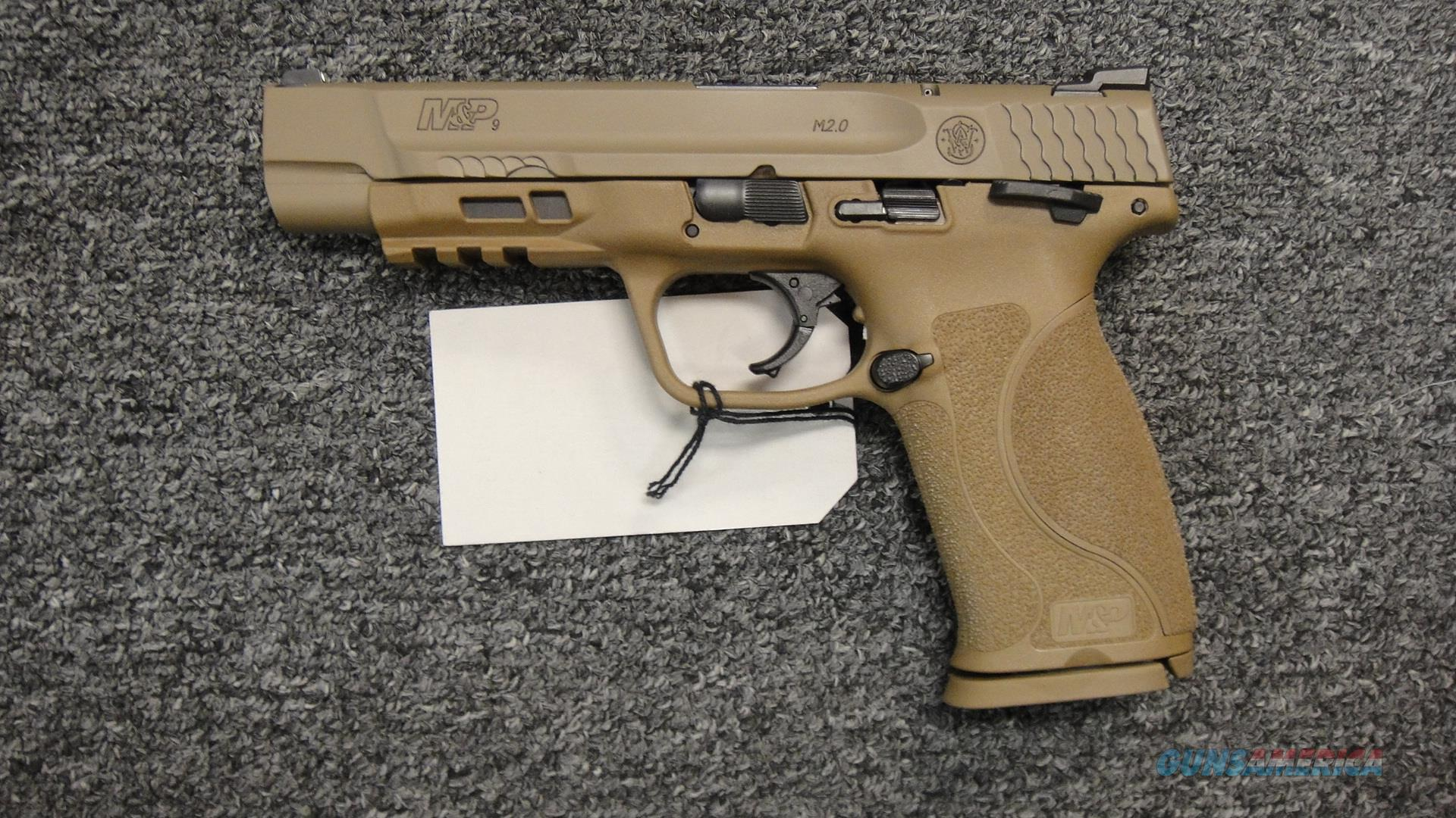 "Smith & Wesson M&P9 M2.0 5"" FDE  Guns > Pistols > Smith & Wesson Pistols - Autos > Polymer Frame"